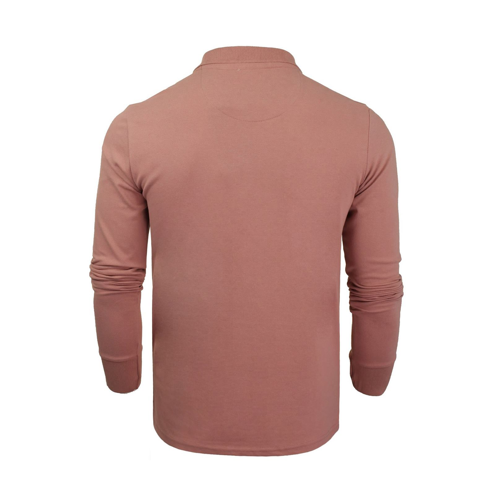 Mens-Polo-Shirt-Brave-Soul-Long-Sleeve-Collared-Top-In-Various-Styles thumbnail 94