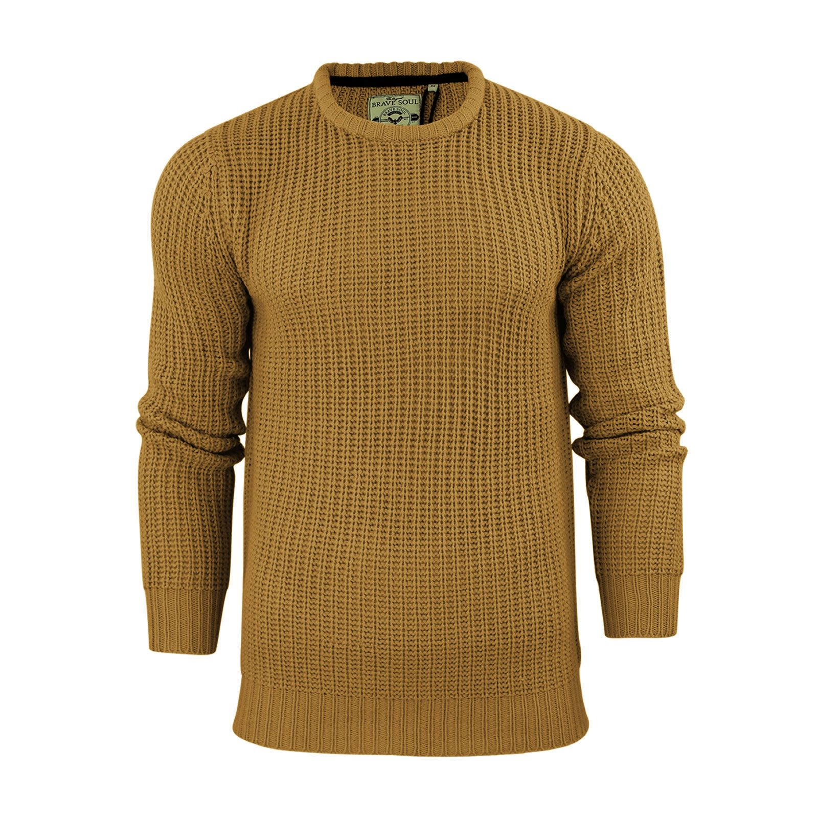 miniature 26 - Pull-Homme-Brave-Soul-Divers-Sweater