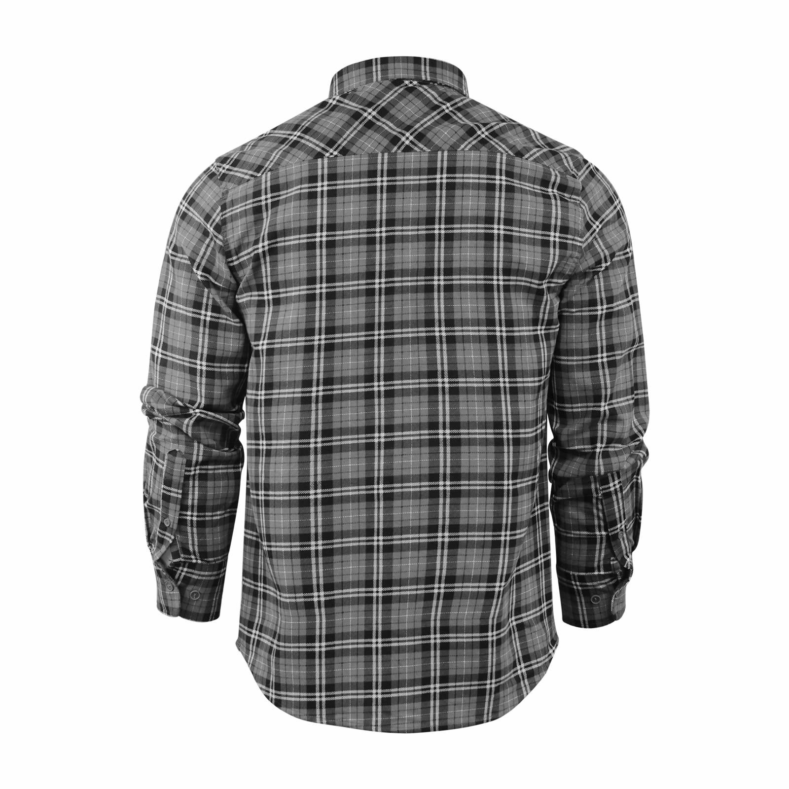 Mens-Check-Shirt-Brave-Soul-Flannel-Brushed-Cotton-Long-Sleeve-Casual-Top thumbnail 81