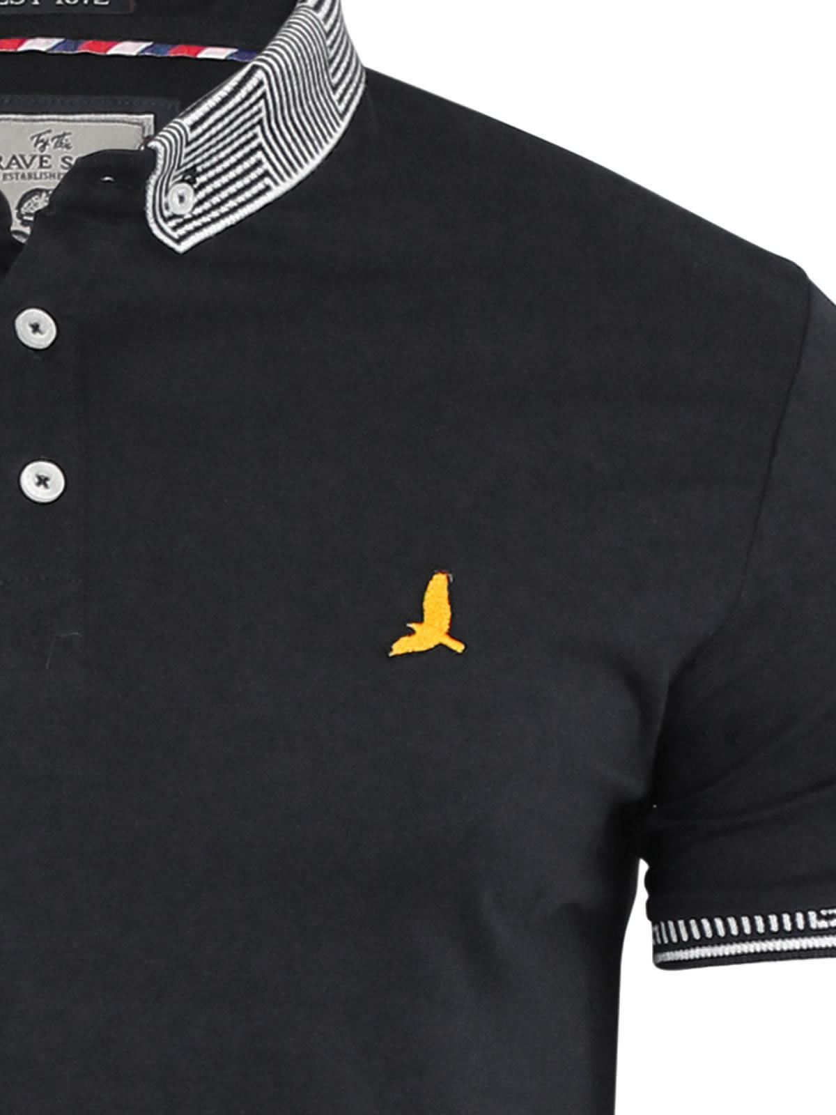 Brave-Soul-Glover-Mens-Polo-T-Shirt-Cotton-Collared-Short-Sleeve-Casual-Top thumbnail 34