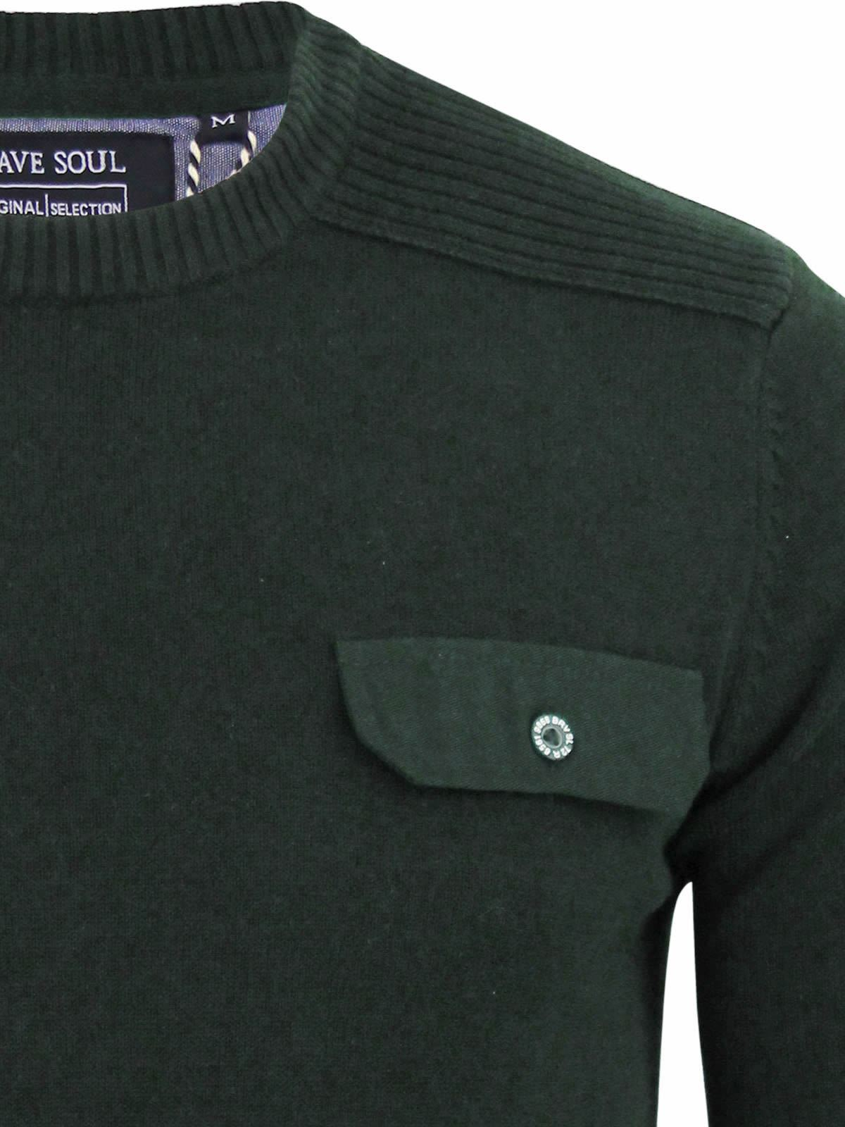 miniature 81 - Pull-Homme-Brave-Soul-Divers-Sweater