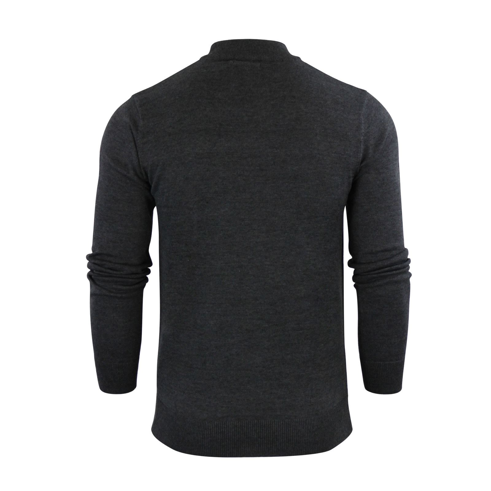 Mens-Jumper-Brave-Soul-Turtle-Neck-Cotton-Pull-Over-Sweater thumbnail 12