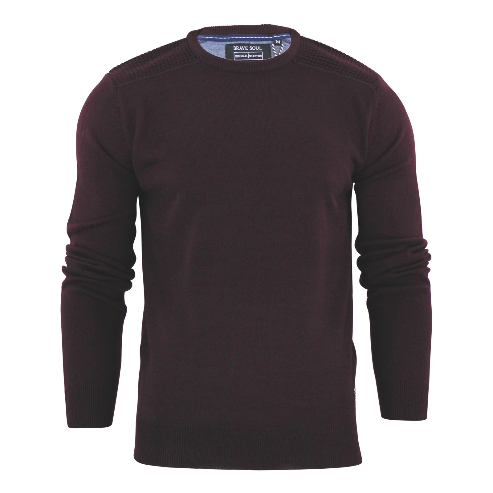 Mens-Jumper-Brave-Soul-Knitted-Sweater-In-Various-Styles thumbnail 73