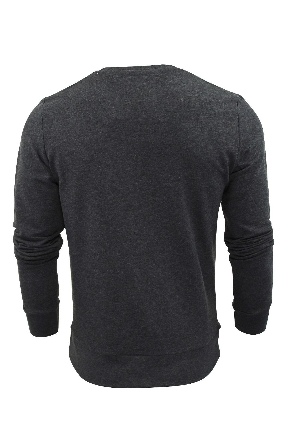 Mens-Sweater-Jumper-Brave-Soul-Jones-Crew-Neck-Sweatshirt thumbnail 3