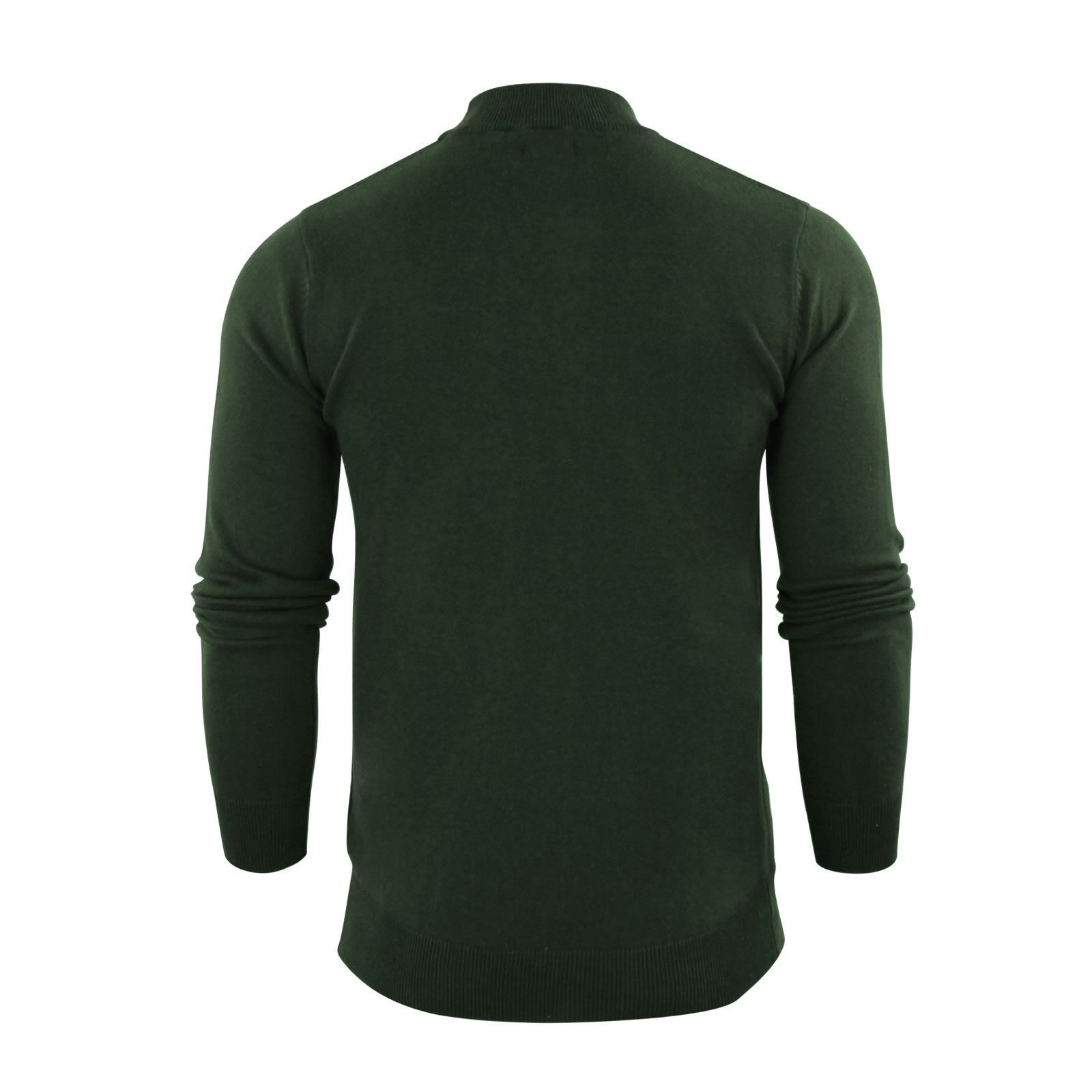 Mens-Jumper-Brave-Soul-Turtle-Neck-Cotton-Pull-Over-Sweater thumbnail 28