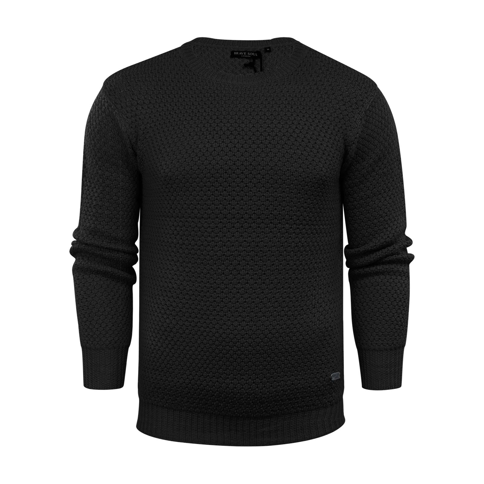 Mens-Jumper-Brave-Soul-Knitted-Sweater-In-Various-Styles thumbnail 30