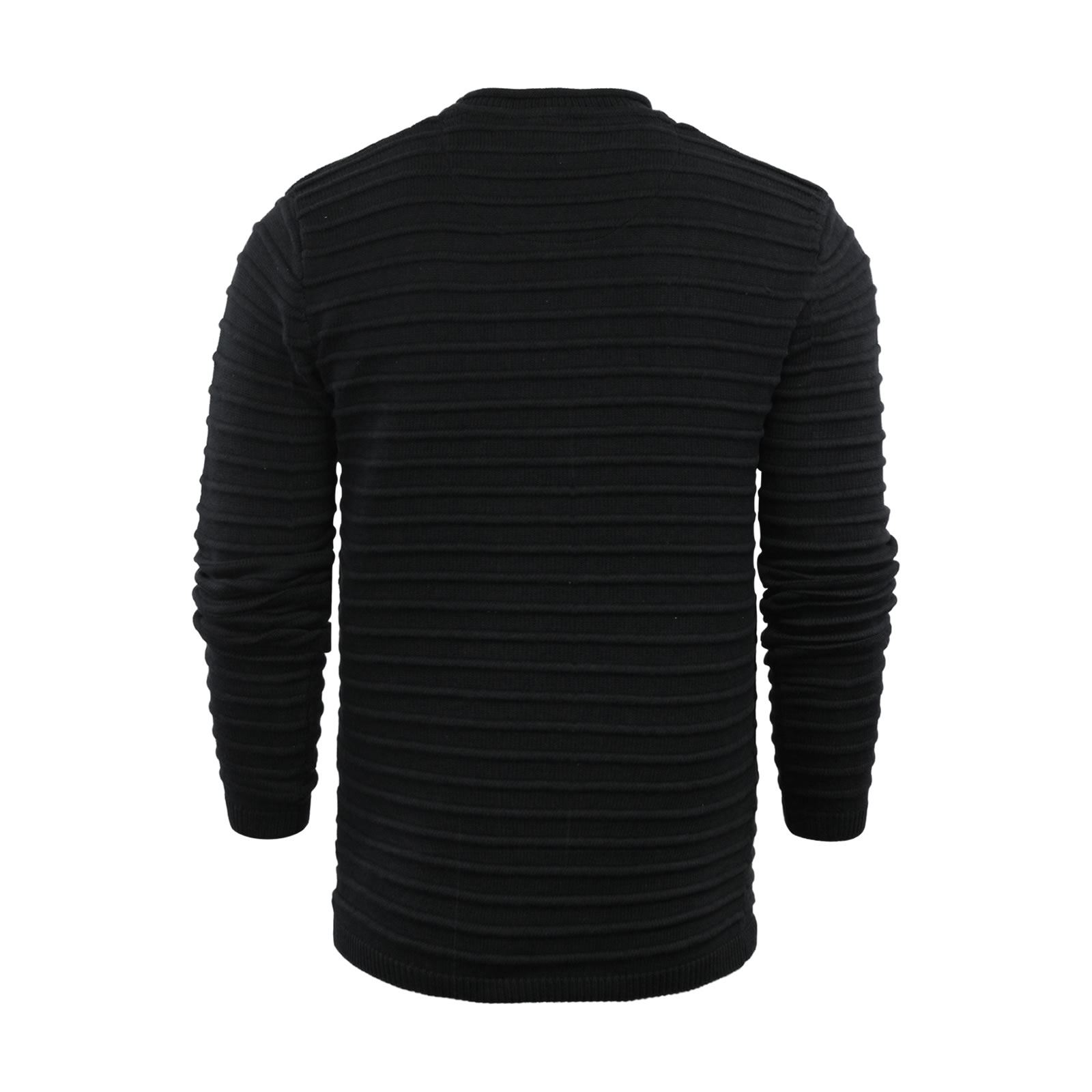 Mens-Jumper-Brave-Soul-Knitted-Sweater-In-Various-Styles thumbnail 132
