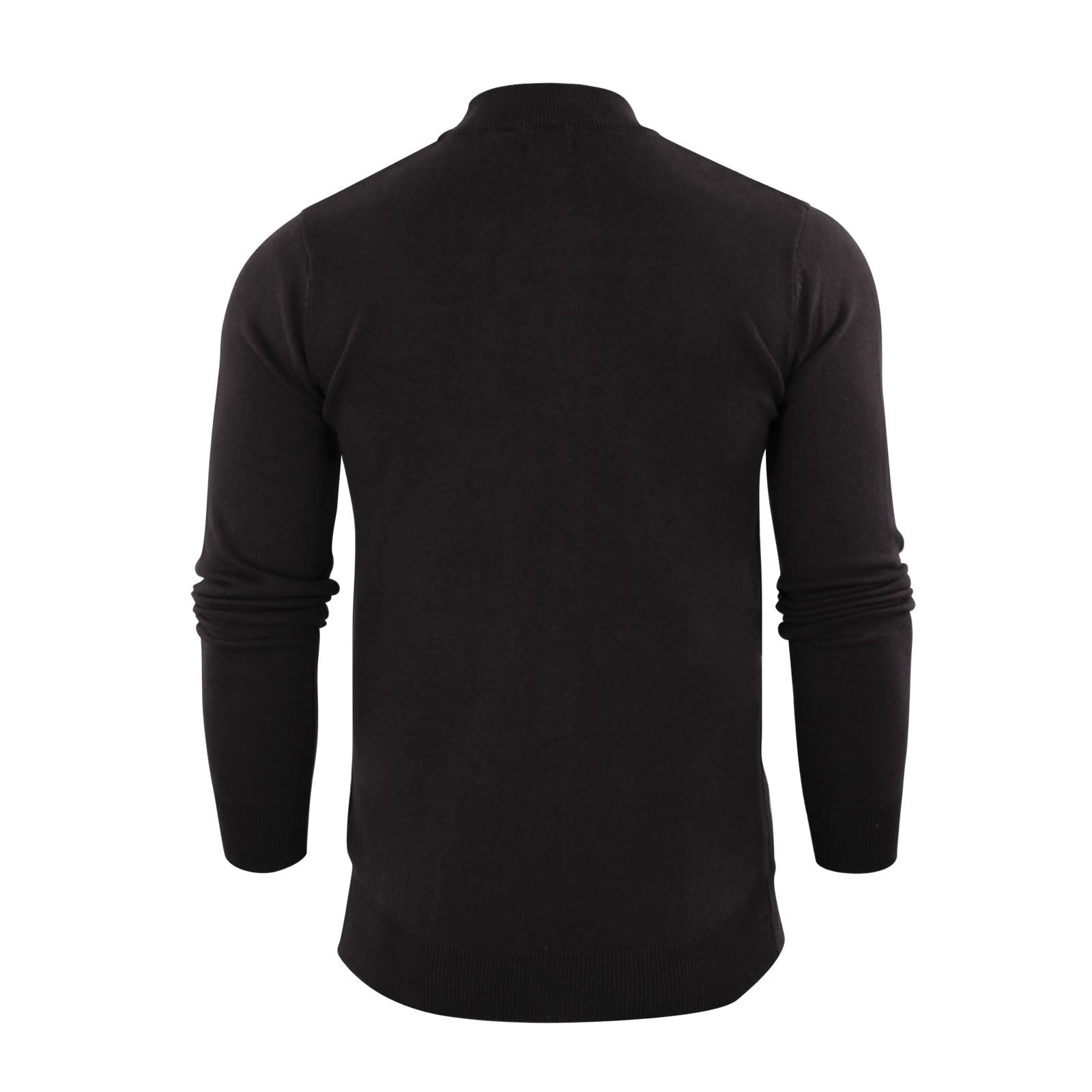 Mens-Jumper-Brave-Soul-Turtle-Neck-Cotton-Pull-Over-Sweater thumbnail 6