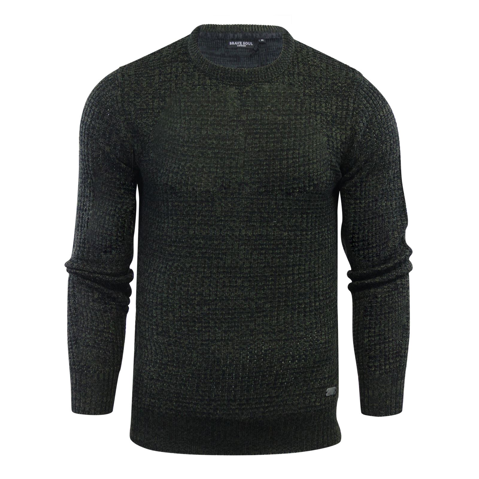 Mens-Jumper-Brave-Soul-Knitted-Sweater-In-Various-Styles thumbnail 40