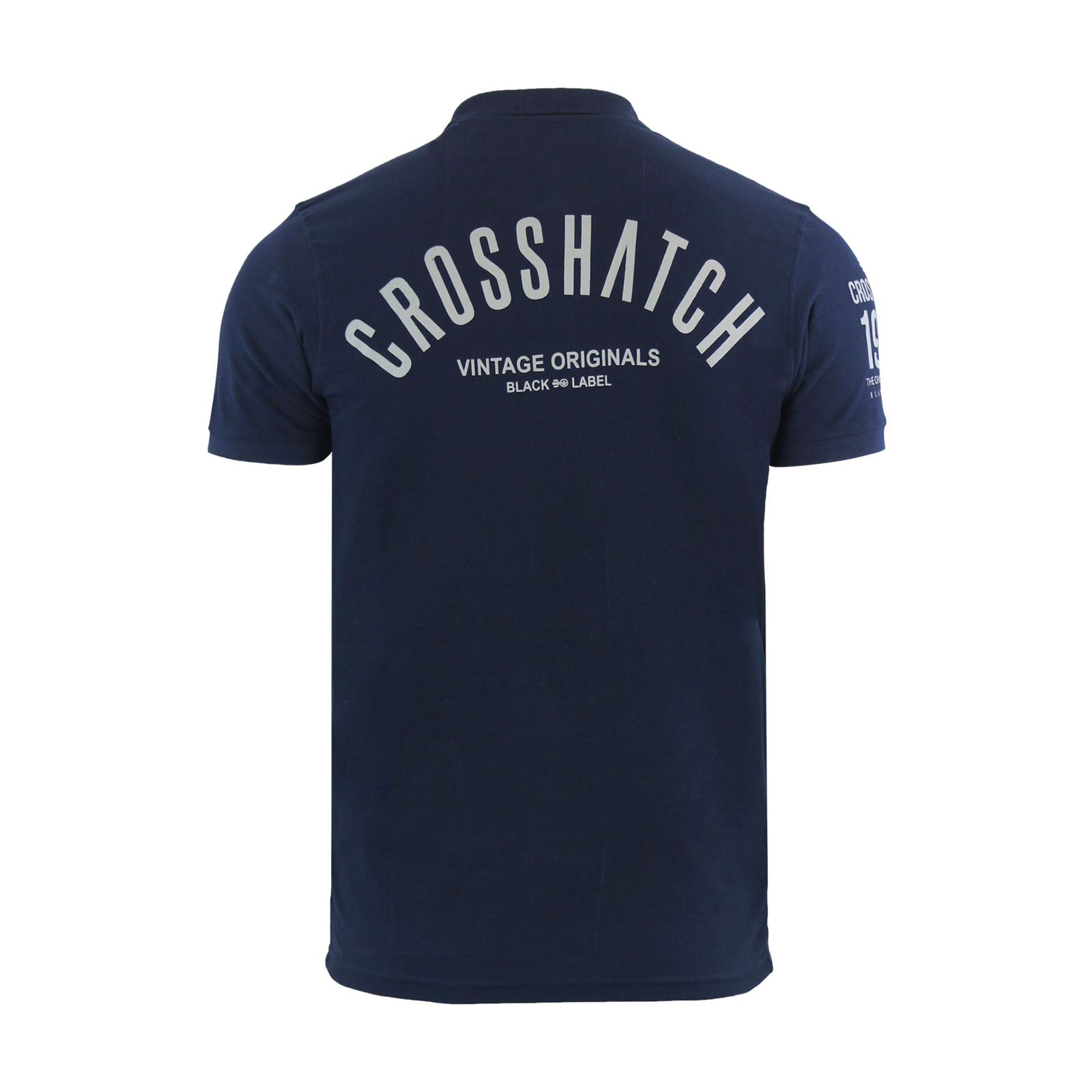 Crosshatch-Mens-Polo-T-Shirt-Pique-Polo-Cotton-Collared-Short-Sleeve-T-Shirt thumbnail 77
