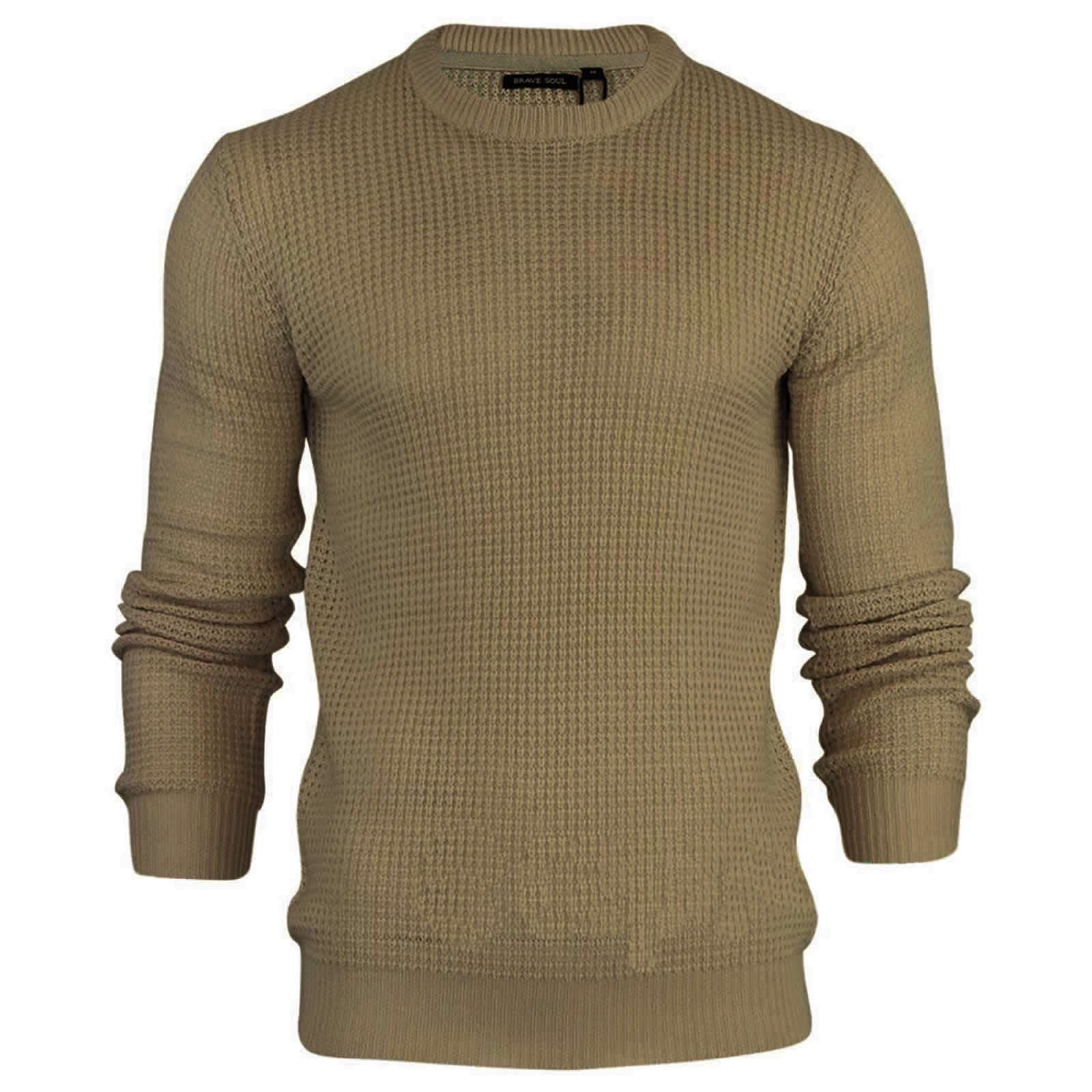 miniature 56 - Pull-Homme-Brave-Soul-Divers-Sweater