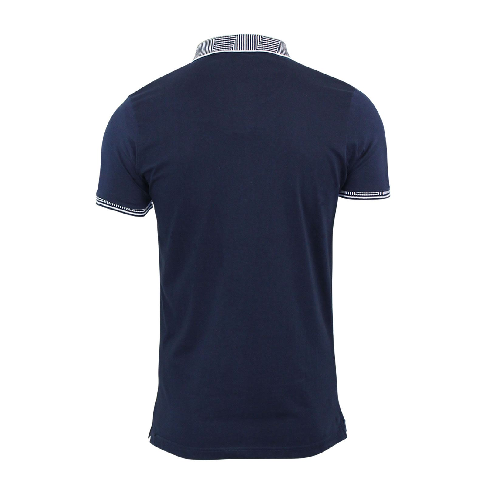 Brave-Soul-Glover-Mens-Polo-T-Shirt-Cotton-Collared-Short-Sleeve-Casual-Top thumbnail 45
