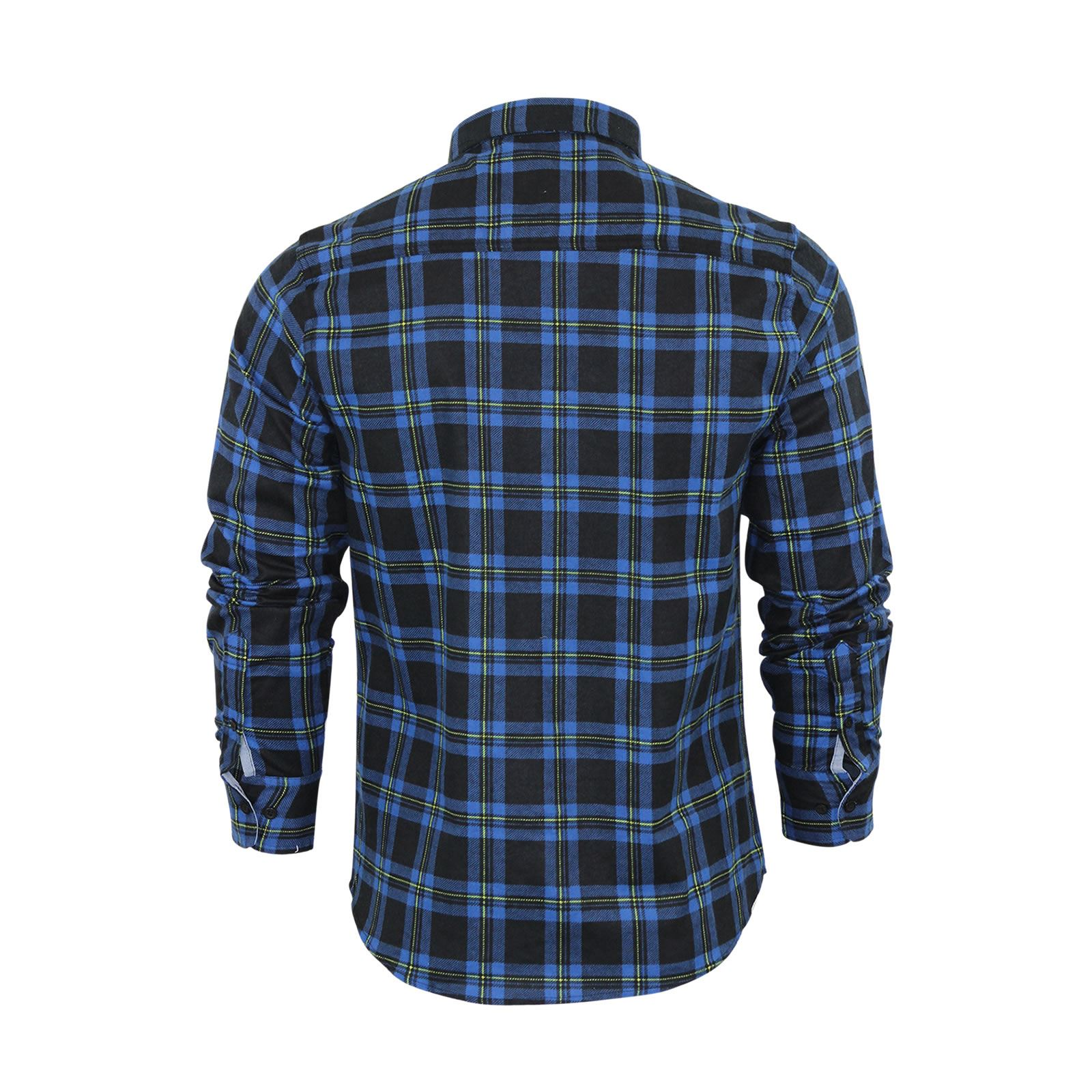 Mens-Check-Shirt-Brave-Soul-Flannel-Brushed-Cotton-Long-Sleeve-Casual-Top thumbnail 69
