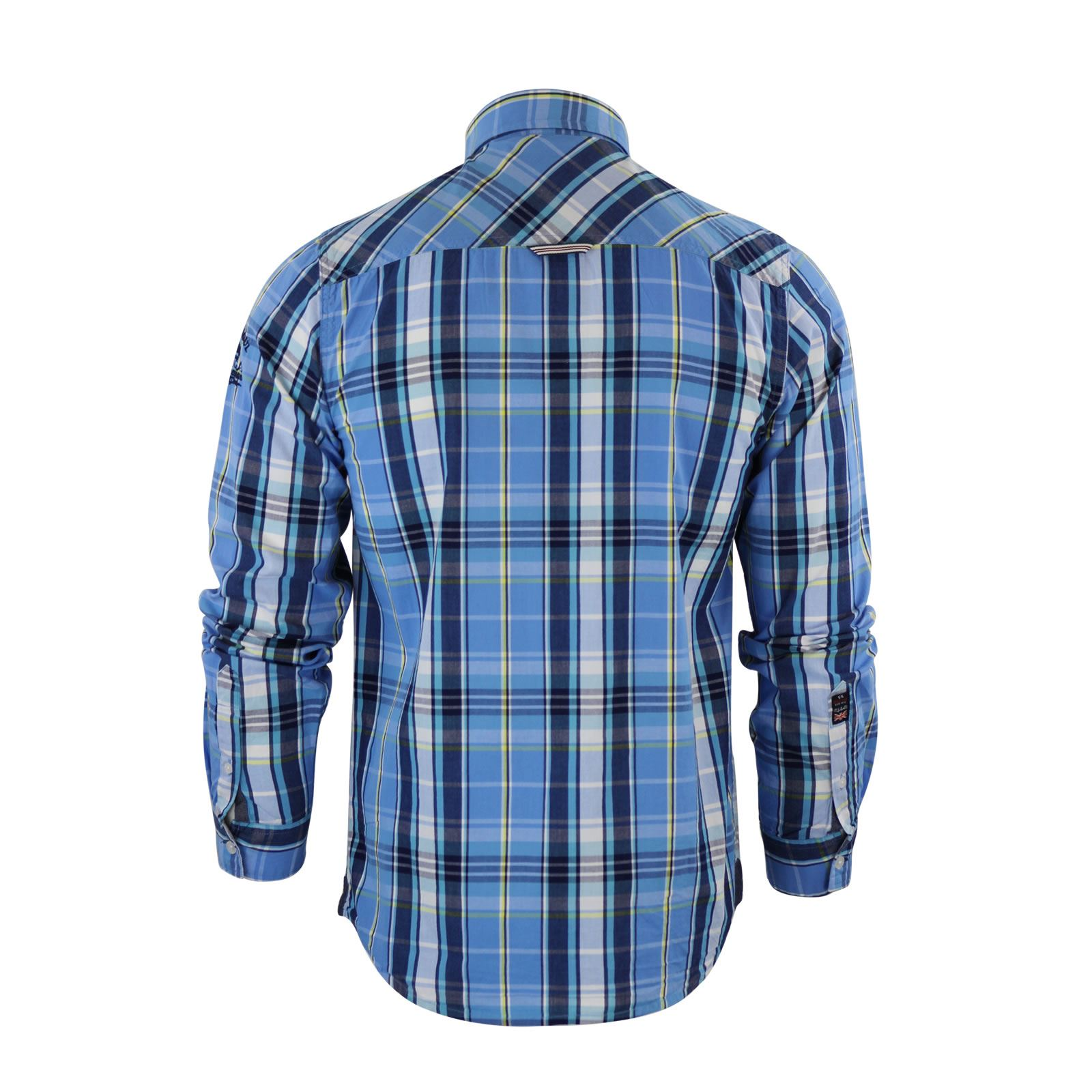 Mens-Check-Shirt-Brave-Soul-Flannel-Brushed-Cotton-Long-Sleeve-Casual-Top thumbnail 54