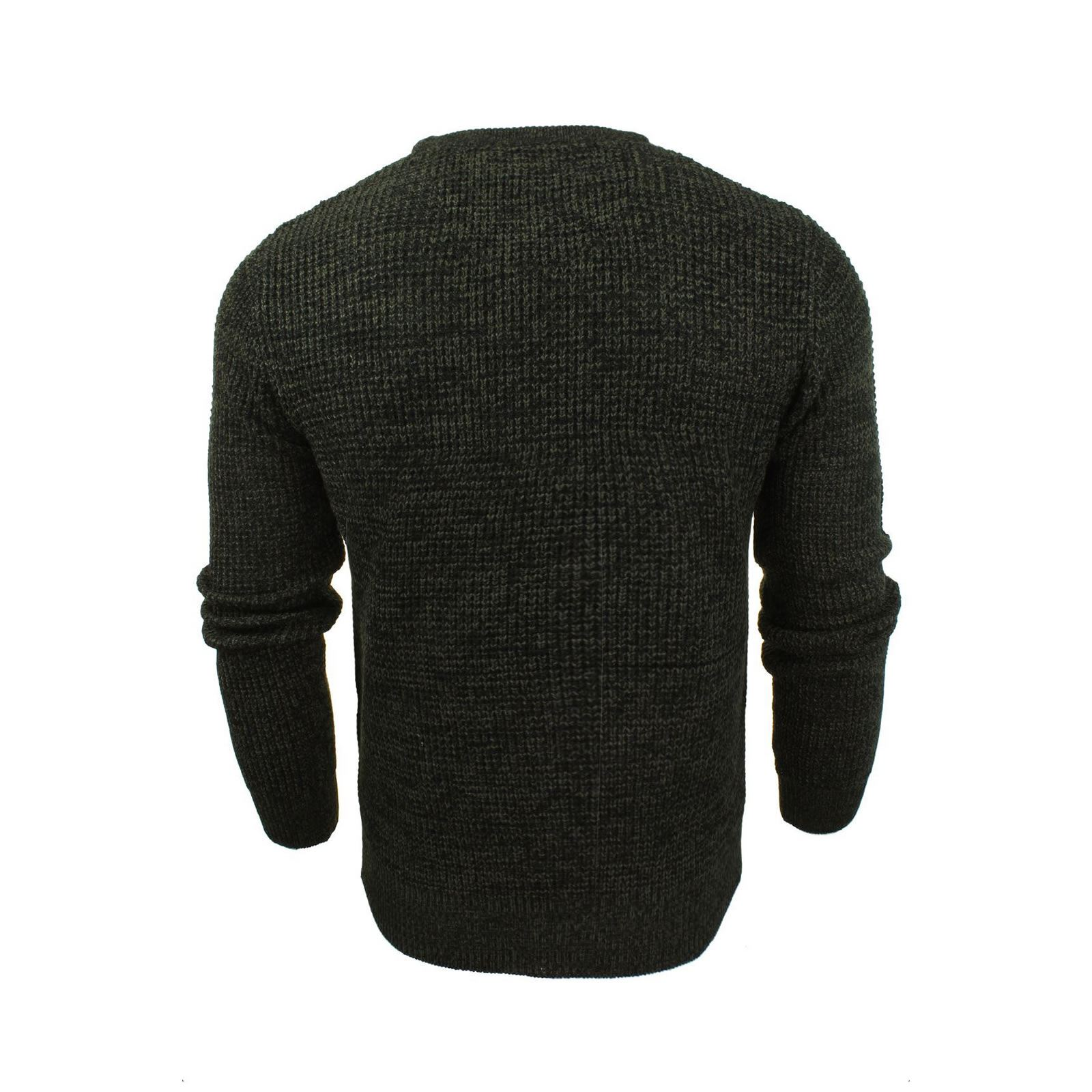 Mens-Jumper-Brave-Soul-Knitted-Sweater-In-Various-Styles thumbnail 93