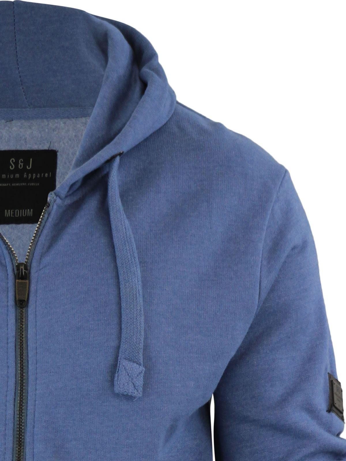 Mens-Hoodie-Smith-amp-Jones-Zip-Up-Hooded-Sweater-Jumper thumbnail 31