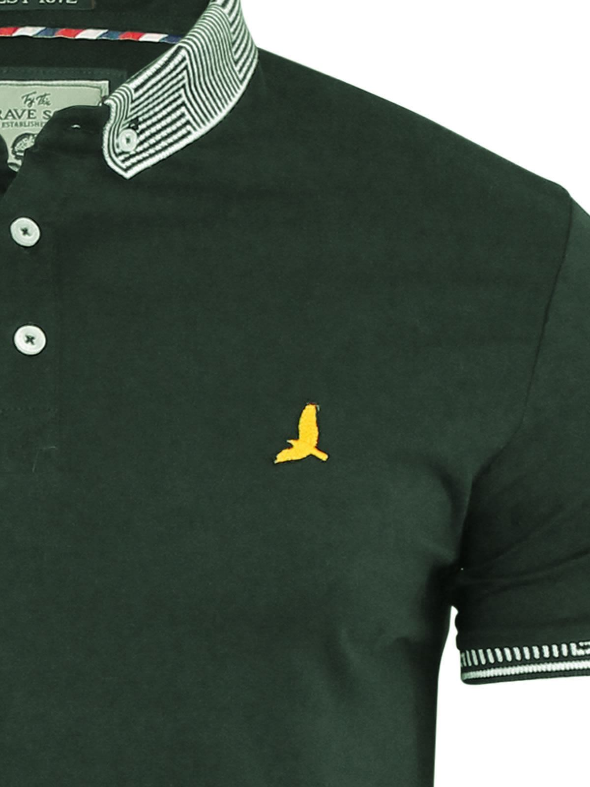 Brave-Soul-Glover-Mens-Polo-T-Shirt-Cotton-Collared-Short-Sleeve-Casual-Top thumbnail 43
