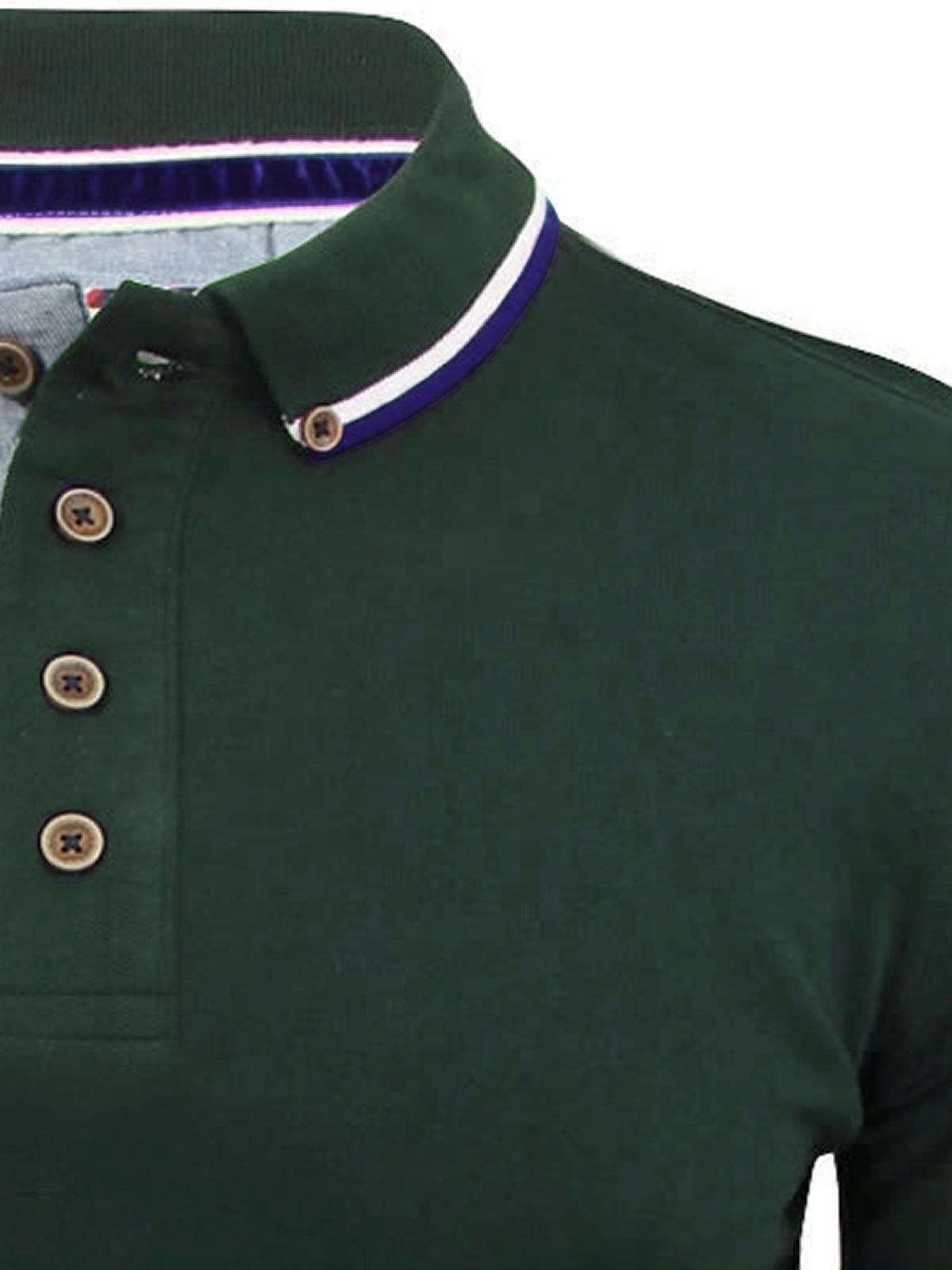 Brave-Soul-Polo-Homme-a-Manches-Longues-A-Col-Haut-Dans-Divers-Styles miniature 68