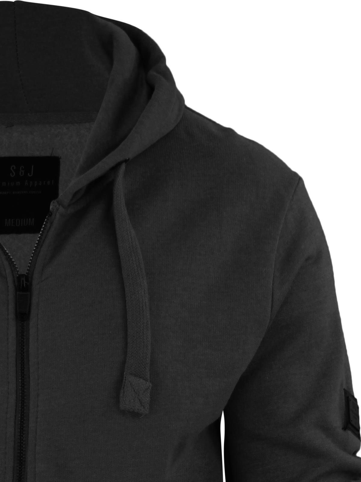 Mens-Hoodie-Smith-amp-Jones-Zip-Up-Hooded-Sweater-Jumper thumbnail 25