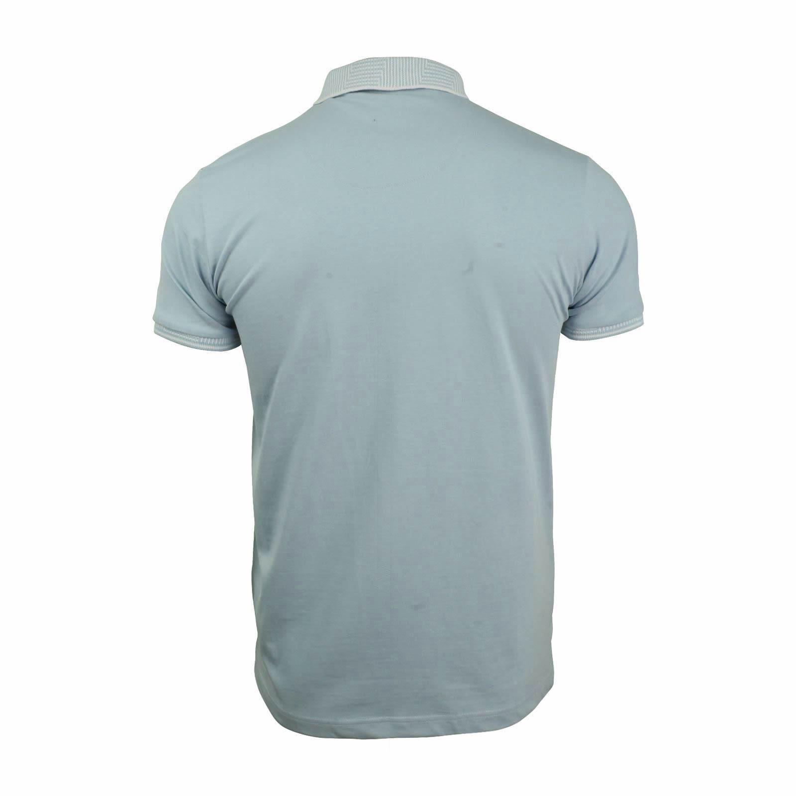 Brave-Soul-Glover-Homme-Polo-T-Shirt-En-Coton-A-Col-Manches-Courtes-Haut-Decontracte miniature 37
