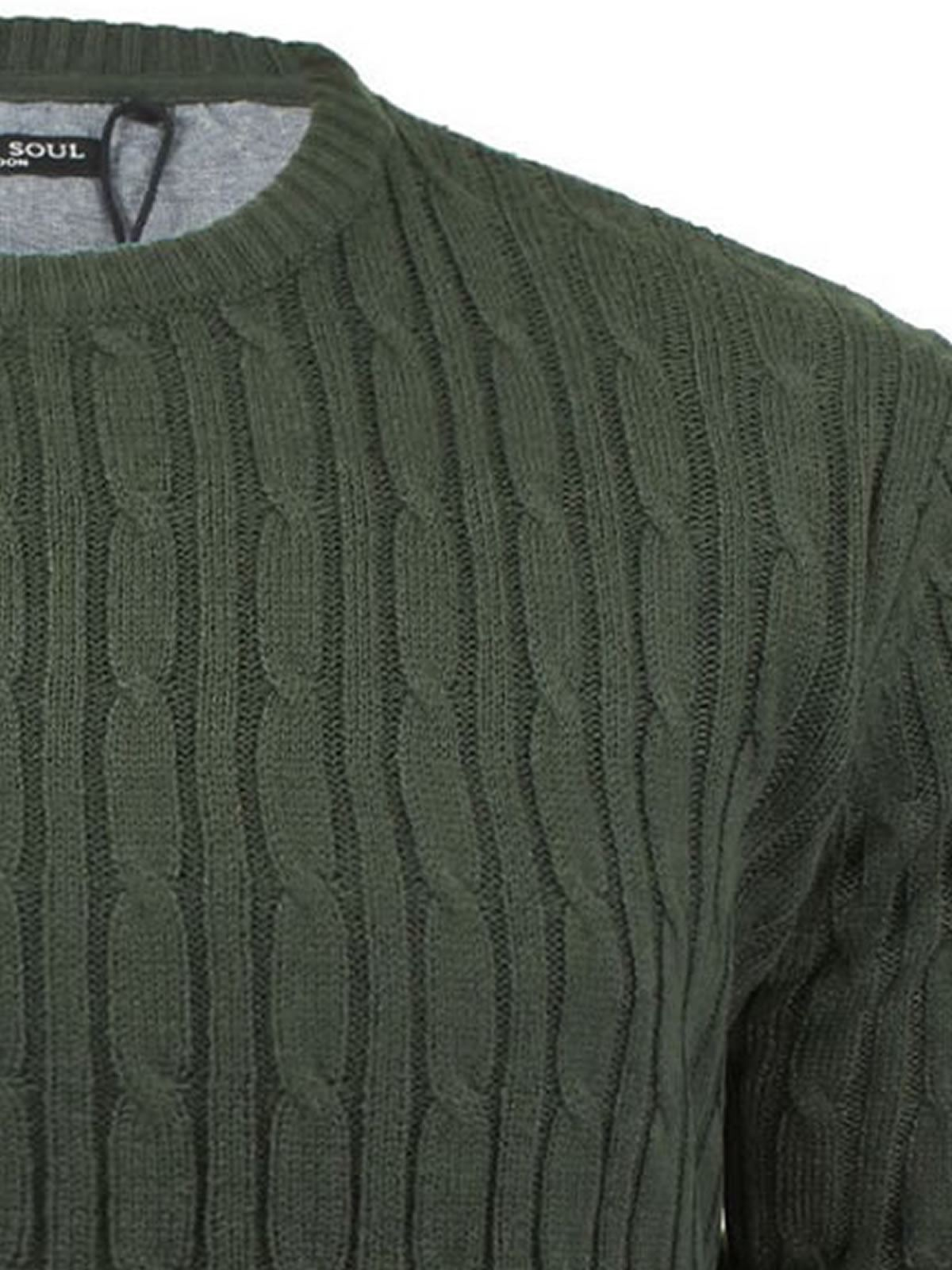 miniature 40 - Pull-Homme-Brave-Soul-Divers-Sweater