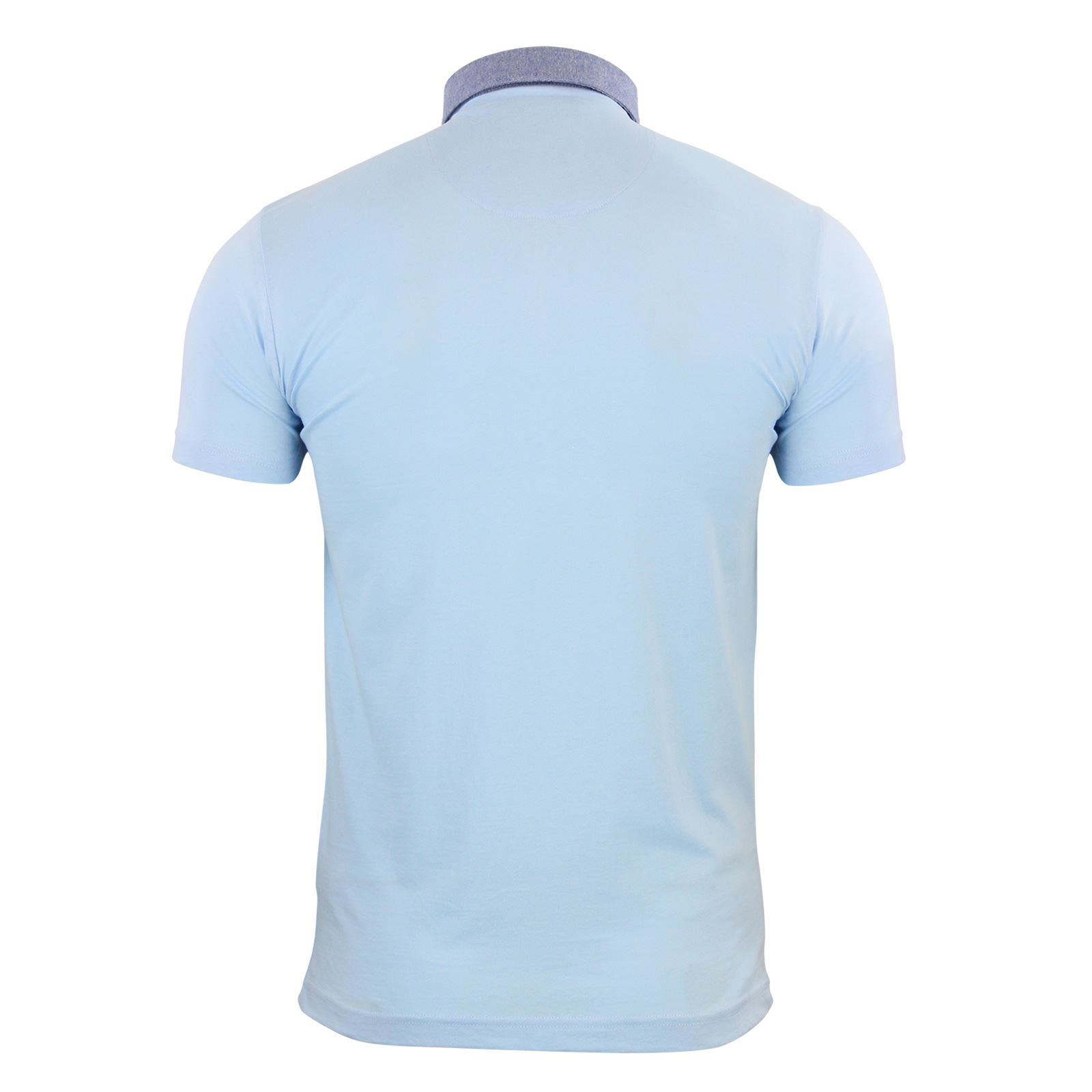 Mens-Polo-T-Shirt-Brave-Soul-Glover-Cotton-Collared-Short-Sleeve-Casual-Top thumbnail 40