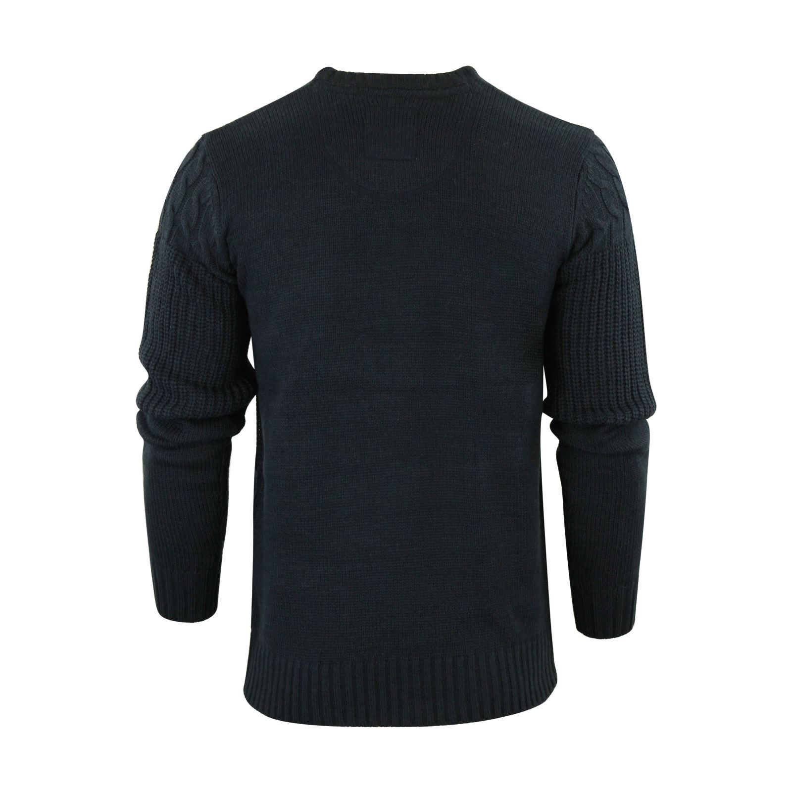 Mens-Jumper-Brave-Soul-Knitted-Sweater-In-Various-Styles thumbnail 105