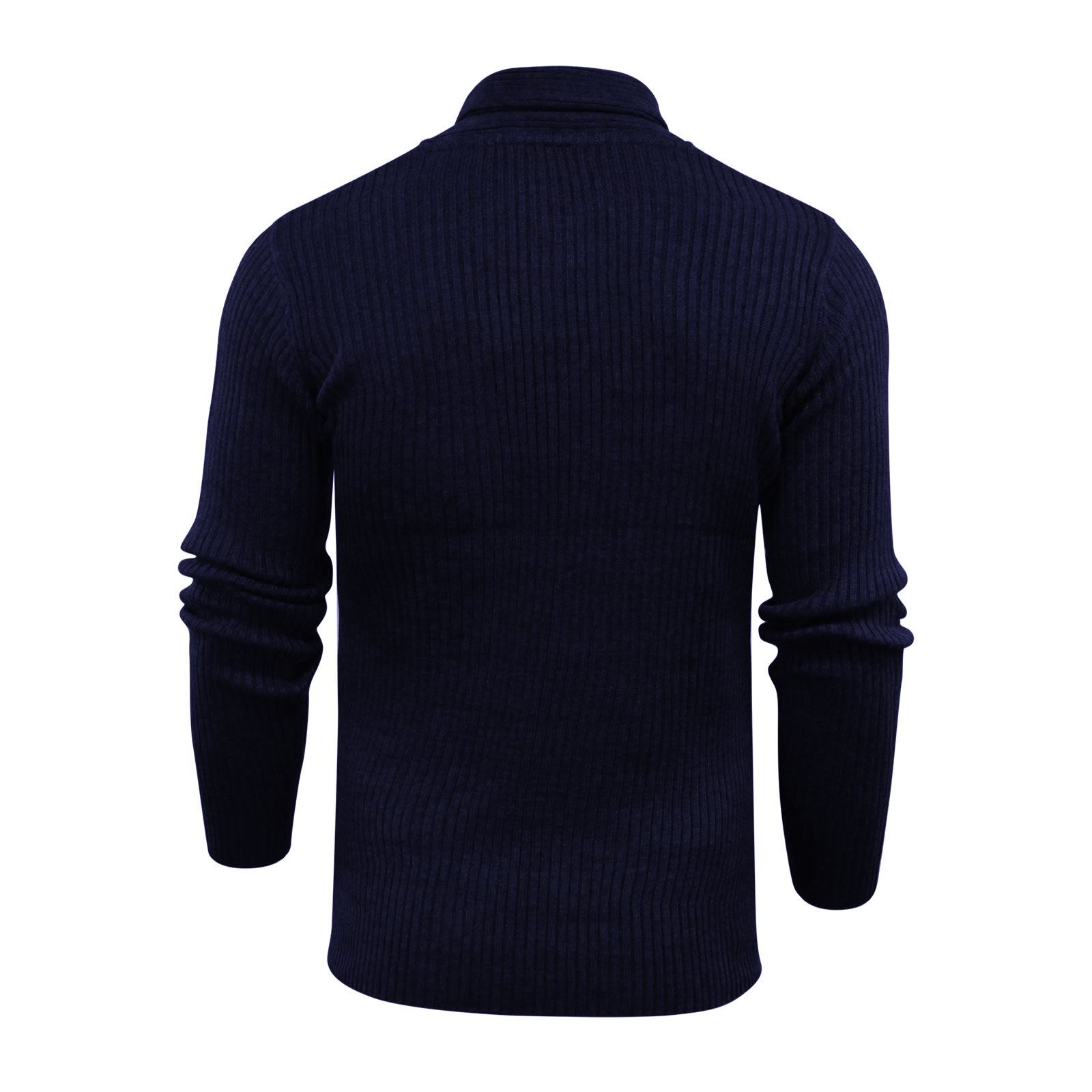 Mens-Jumper-Brave-Soul-Knitted-Sweater-In-Various-Styles thumbnail 120