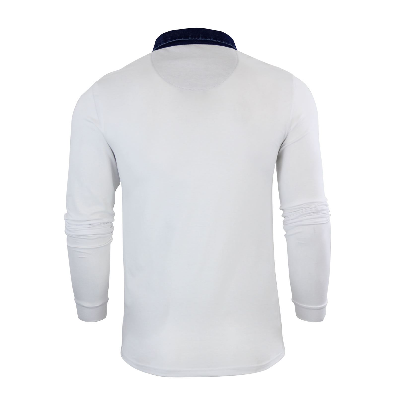 Mens-Polo-Shirt-Brave-Soul-Long-Sleeve-Collared-Top-In-Various-Styles thumbnail 15