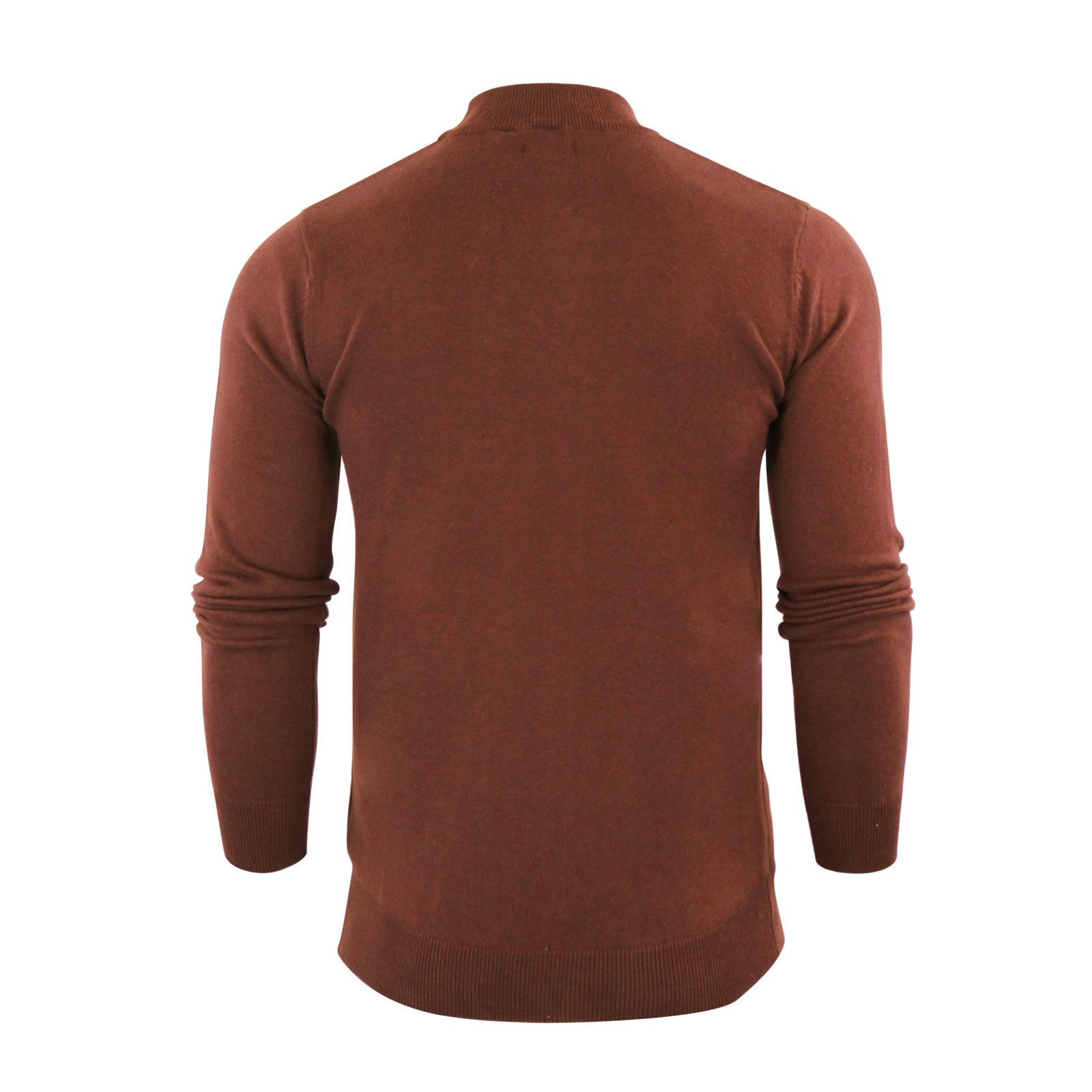 Mens-Jumper-Brave-Soul-Turtle-Neck-Cotton-Pull-Over-Sweater thumbnail 21