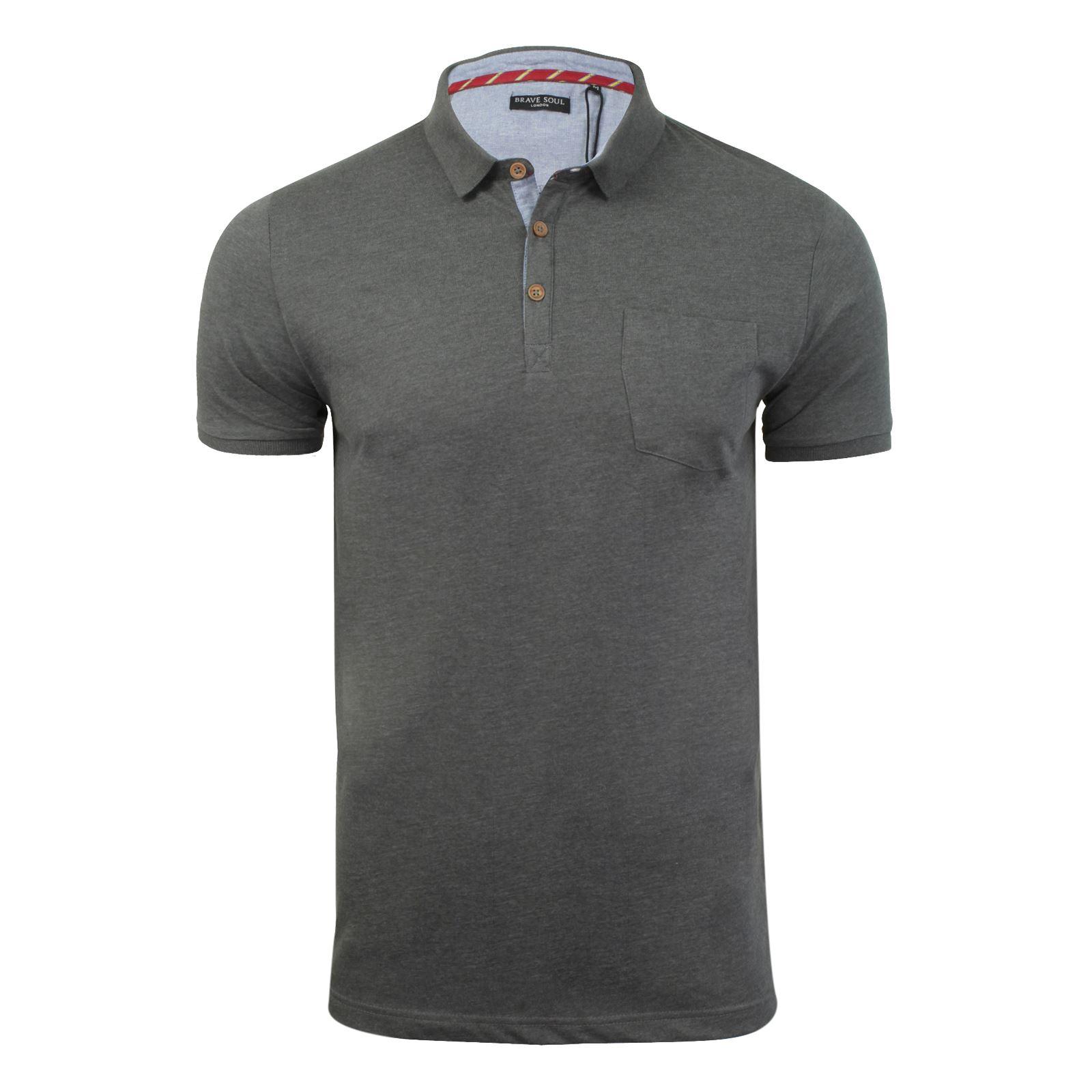 Para-Hombre-Polo-T-Shirt-Alma-valiente-Glover-Algodon-Con-Cuello-Y-Manga-Corta-Casual-Top miniatura 81