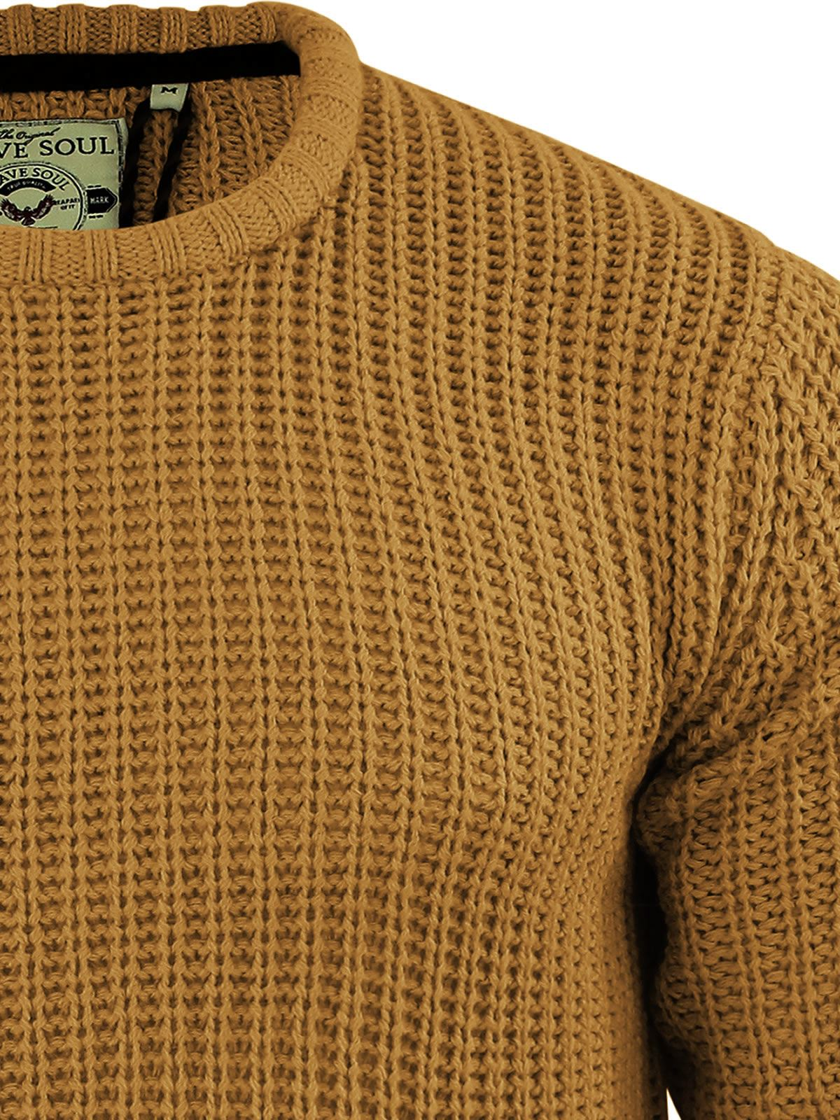 miniature 28 - Pull-Homme-Brave-Soul-Divers-Sweater