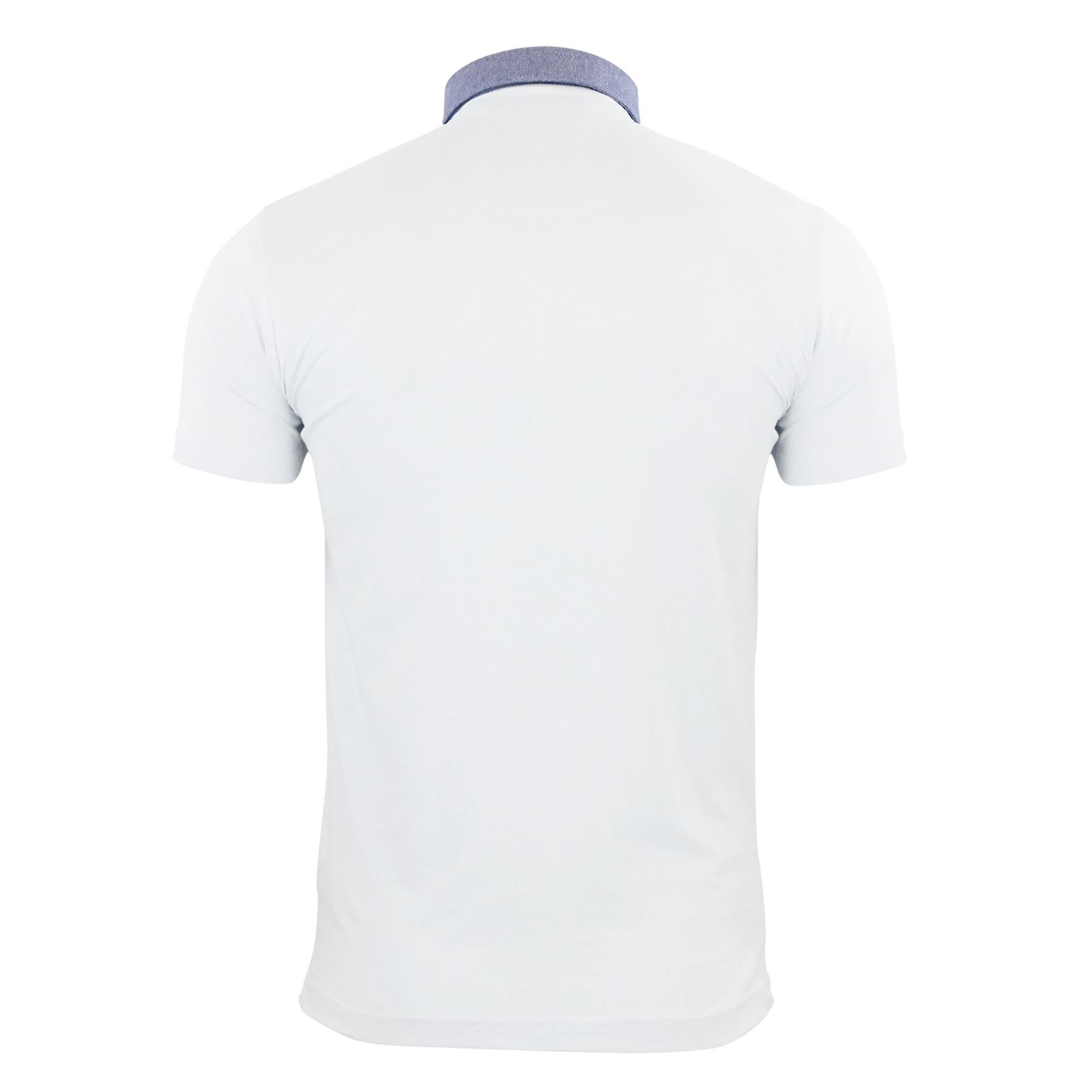 Brave-Soul-Glover-Mens-Polo-T-Shirt-Cotton-Collared-Short-Sleeve-Casual-Top thumbnail 30