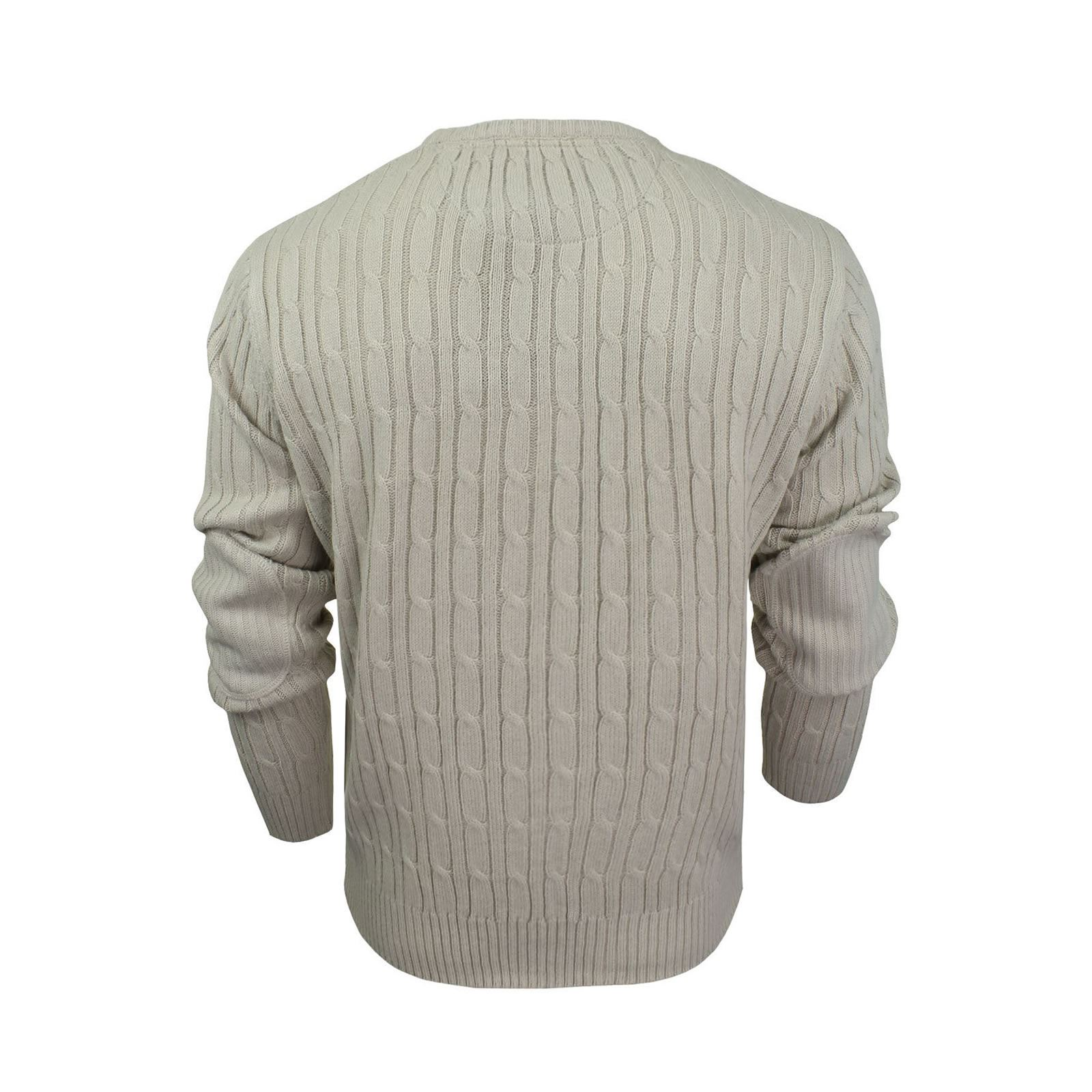 Mens Jumper Brave Soul Mao Cable Knit Crew Neck Sweater | eBay
