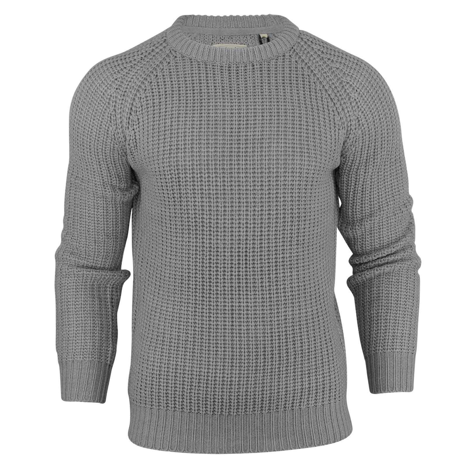 Mens-Jumper-Brave-Soul-Knitted-Sweater-In-Various-Styles thumbnail 58