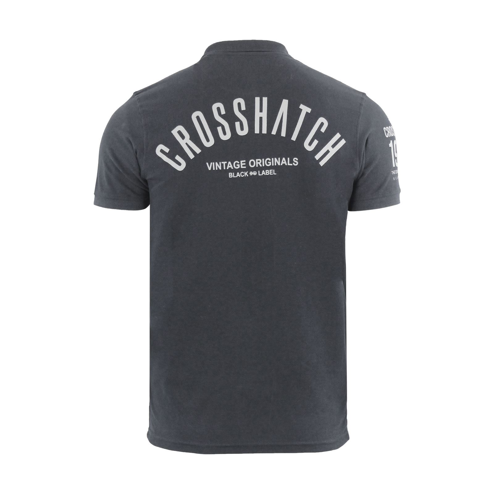 Crosshatch-Mens-Polo-T-Shirt-Pique-Polo-Cotton-Collared-Short-Sleeve-T-Shirt thumbnail 73
