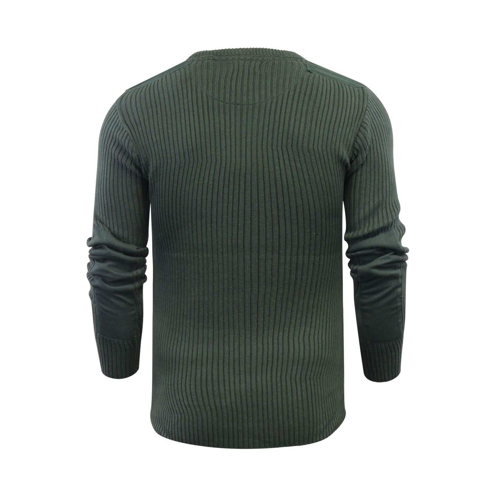 Mens-Jumper-Brave-Soul-Knitted-Sweater-In-Various-Styles thumbnail 85