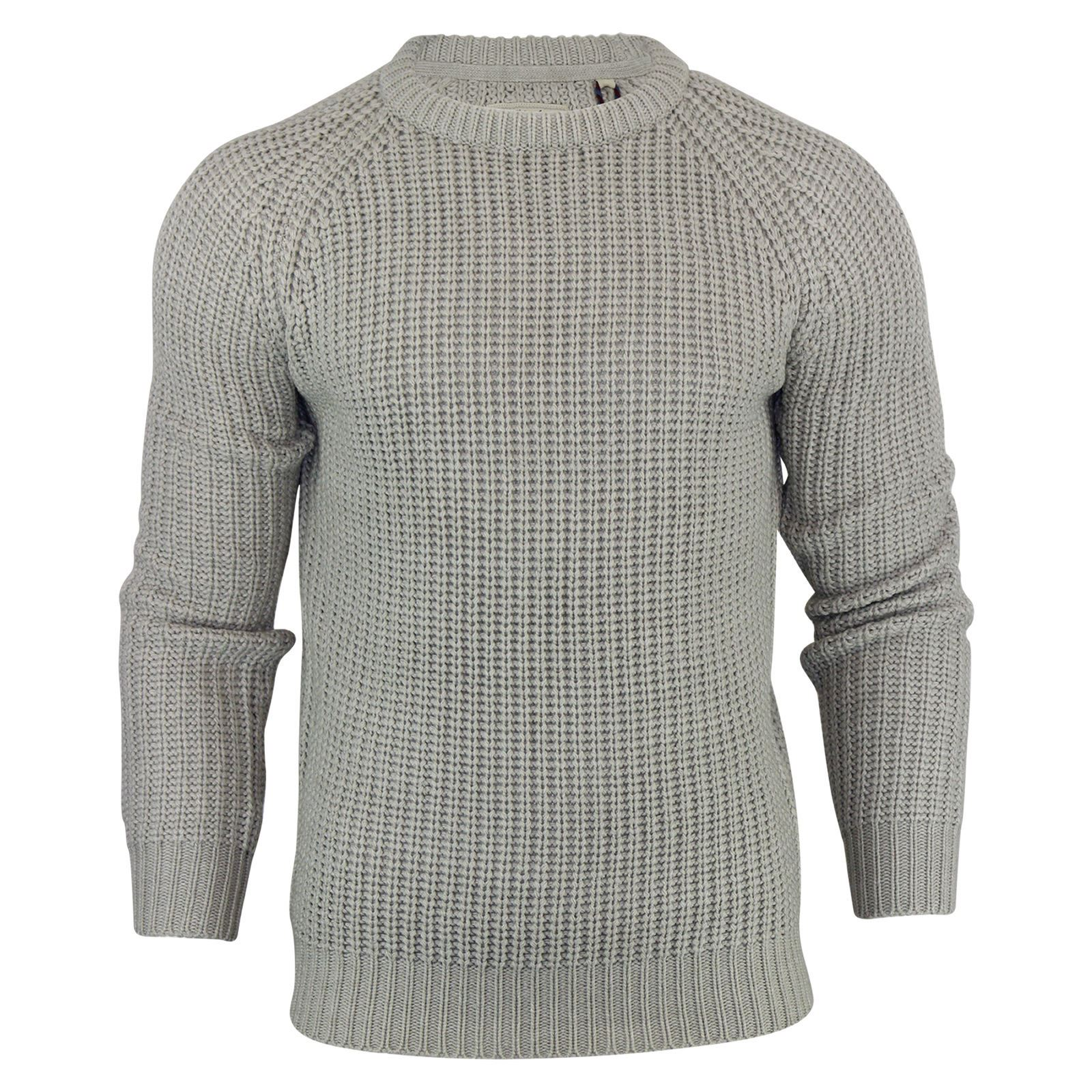 Mens-Jumper-Brave-Soul-Knitted-Sweater-In-Various-Styles thumbnail 52