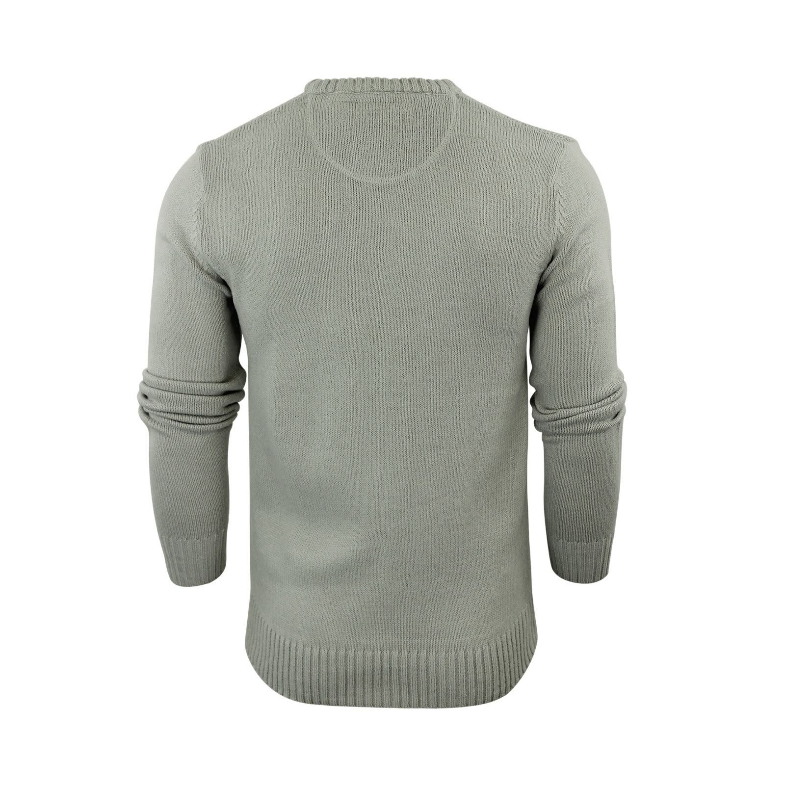 Mens-Jumper-Brave-Soul-Knitted-Sweater-In-Various-Styles thumbnail 28