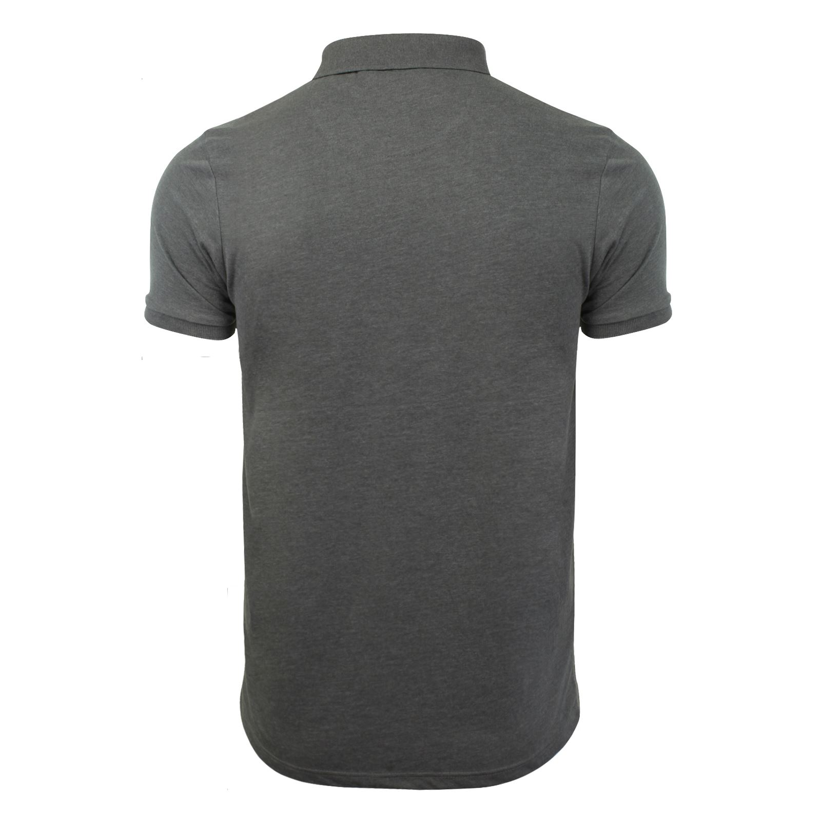 Mens-Polo-T-Shirt-Brave-Soul-Chimera-Chambray-Collared-Cotton-Casual-Top thumbnail 36