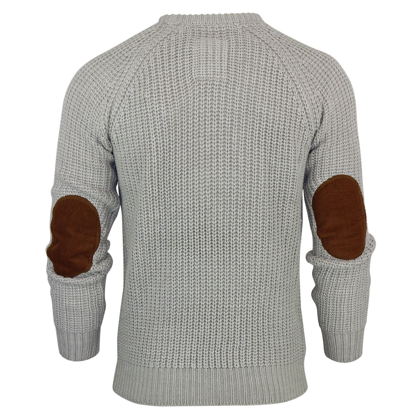 Mens-Jumper-Brave-Soul-Knitted-Sweater-In-Various-Styles thumbnail 53