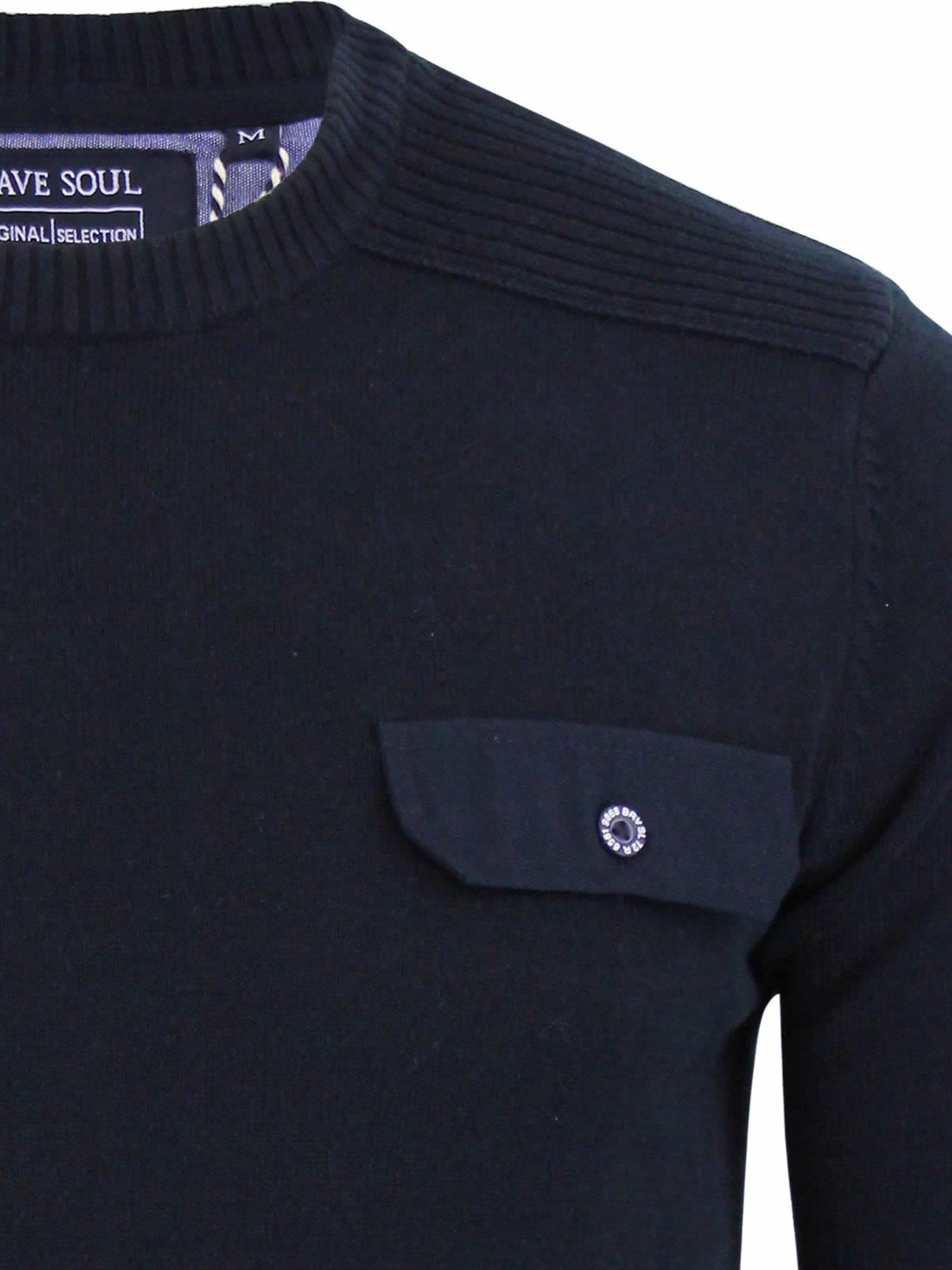 miniature 87 - Pull-Homme-Brave-Soul-Divers-Sweater