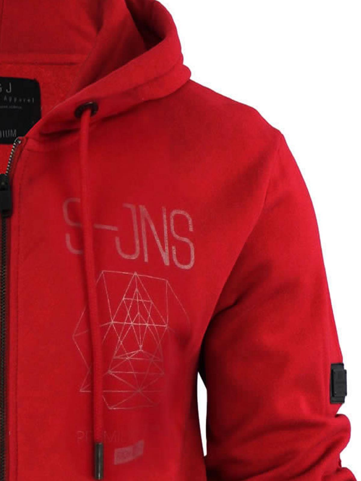 Mens-Hoodie-Smith-amp-Jones-Zip-Up-Hooded-Sweater-Jumper thumbnail 10
