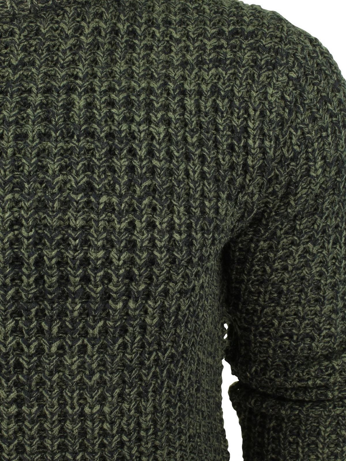 Mens-Jumper-Brave-Soul-Knitted-Sweater-In-Various-Styles thumbnail 20