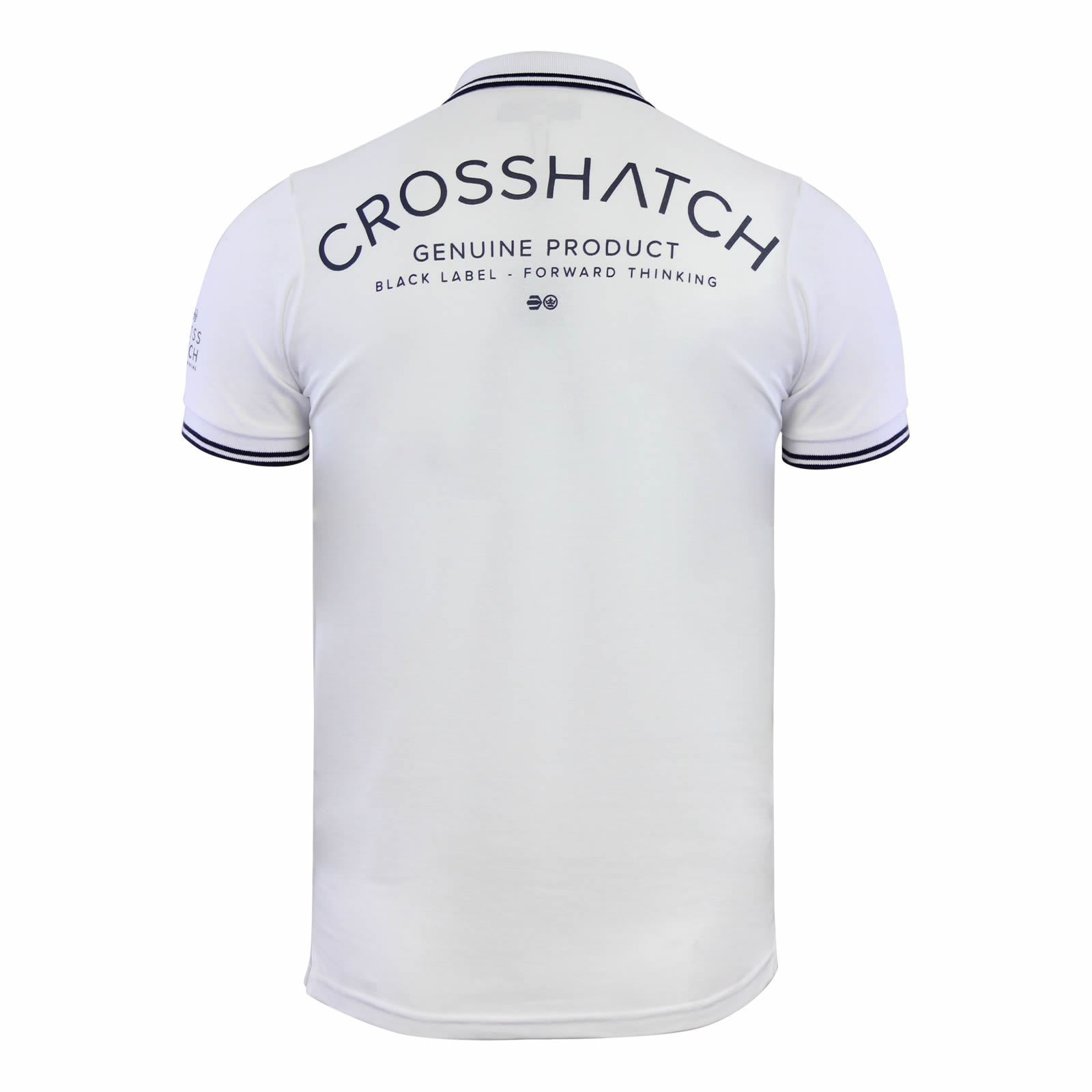 Crosshatch-Mens-Polo-T-Shirt-Pique-Polo-Cotton-Collared-Short-Sleeve-T-Shirt thumbnail 65