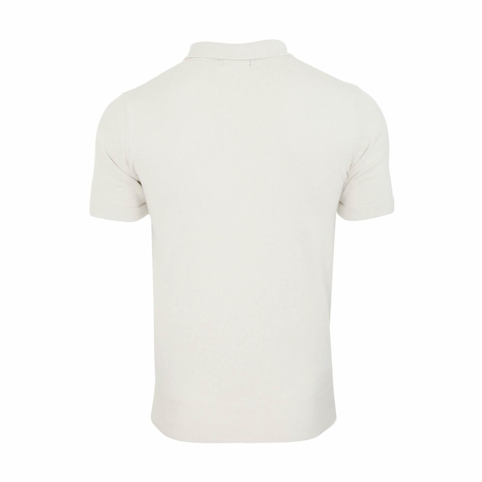 Mens-Knitted-Polo-Brave-Soul-Columbus-Collared-Short-Sleeve-Jumper-T-Shirt thumbnail 17