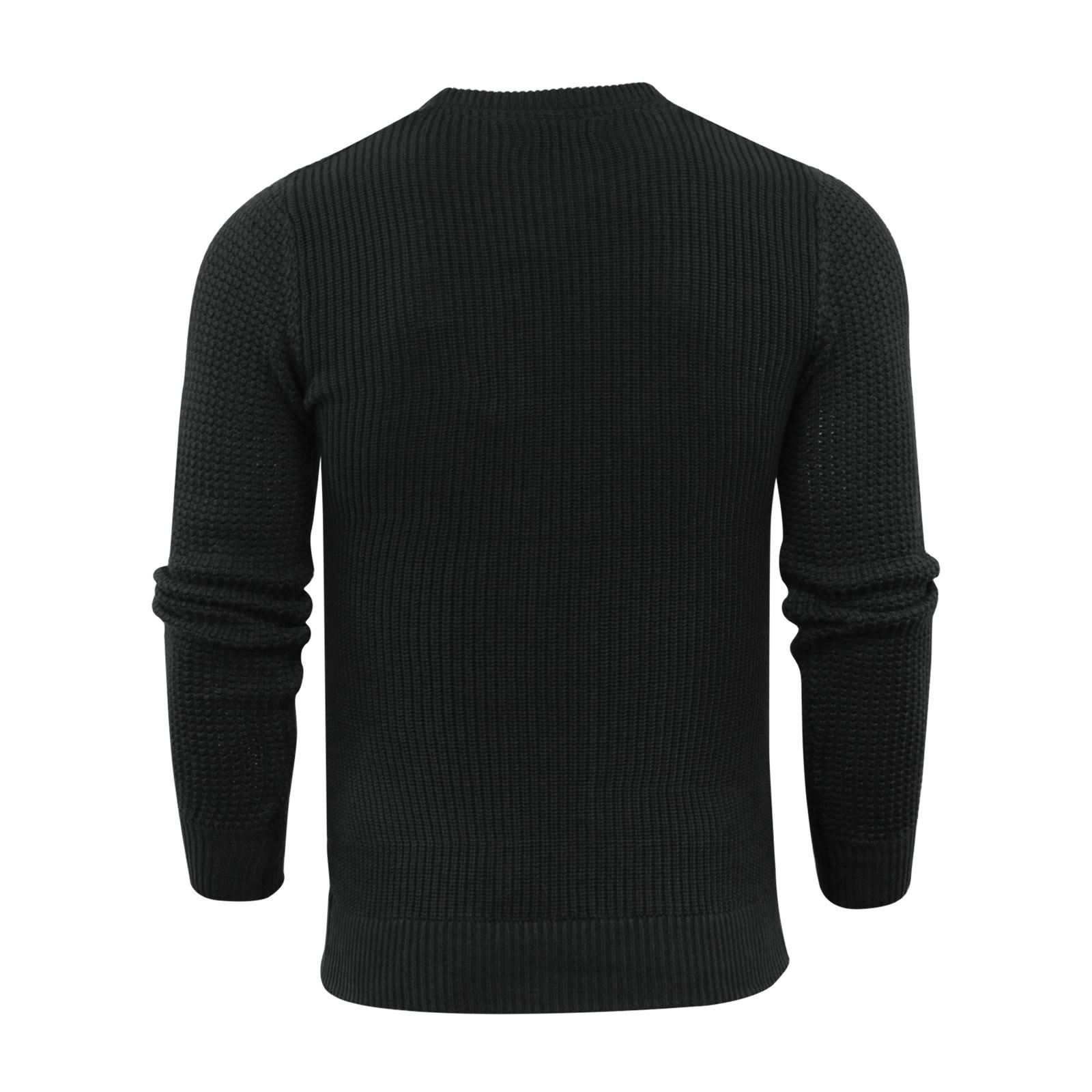 Mens-Jumper-Brave-Soul-Knitted-Sweater-In-Various-Styles thumbnail 130