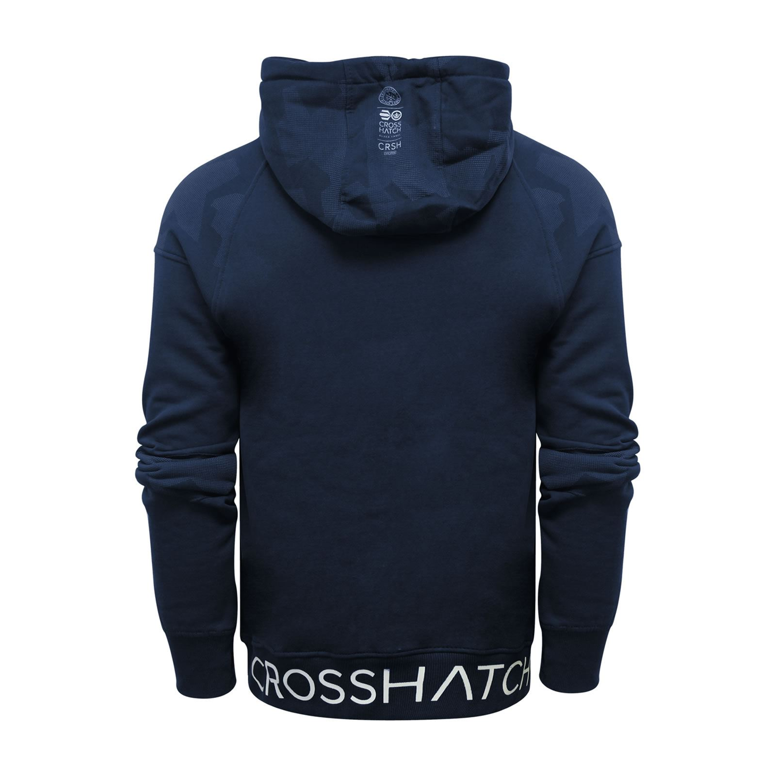 Crosshatch-Quirn-Mens-Hoodie-Cotton-Hooded-Pull-Over-Sweater thumbnail 7