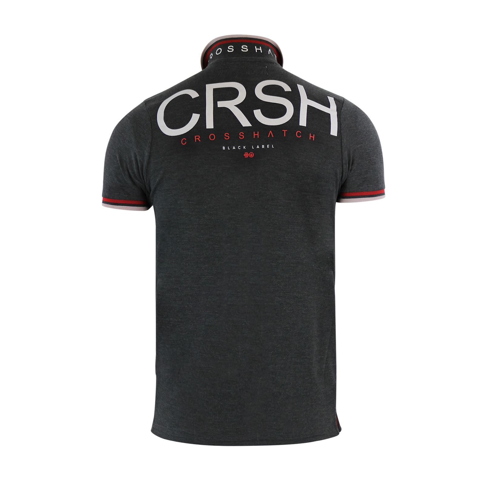 Crosshatch-Mens-Polo-T-Shirt-Pique-Polo-Cotton-Collared-Short-Sleeve-T-Shirt thumbnail 15