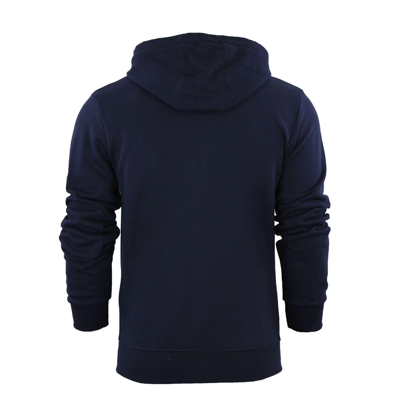 Mens-Hoodie-Smith-amp-Jones-Zip-Up-Hooded-Sweater-Jumper thumbnail 18
